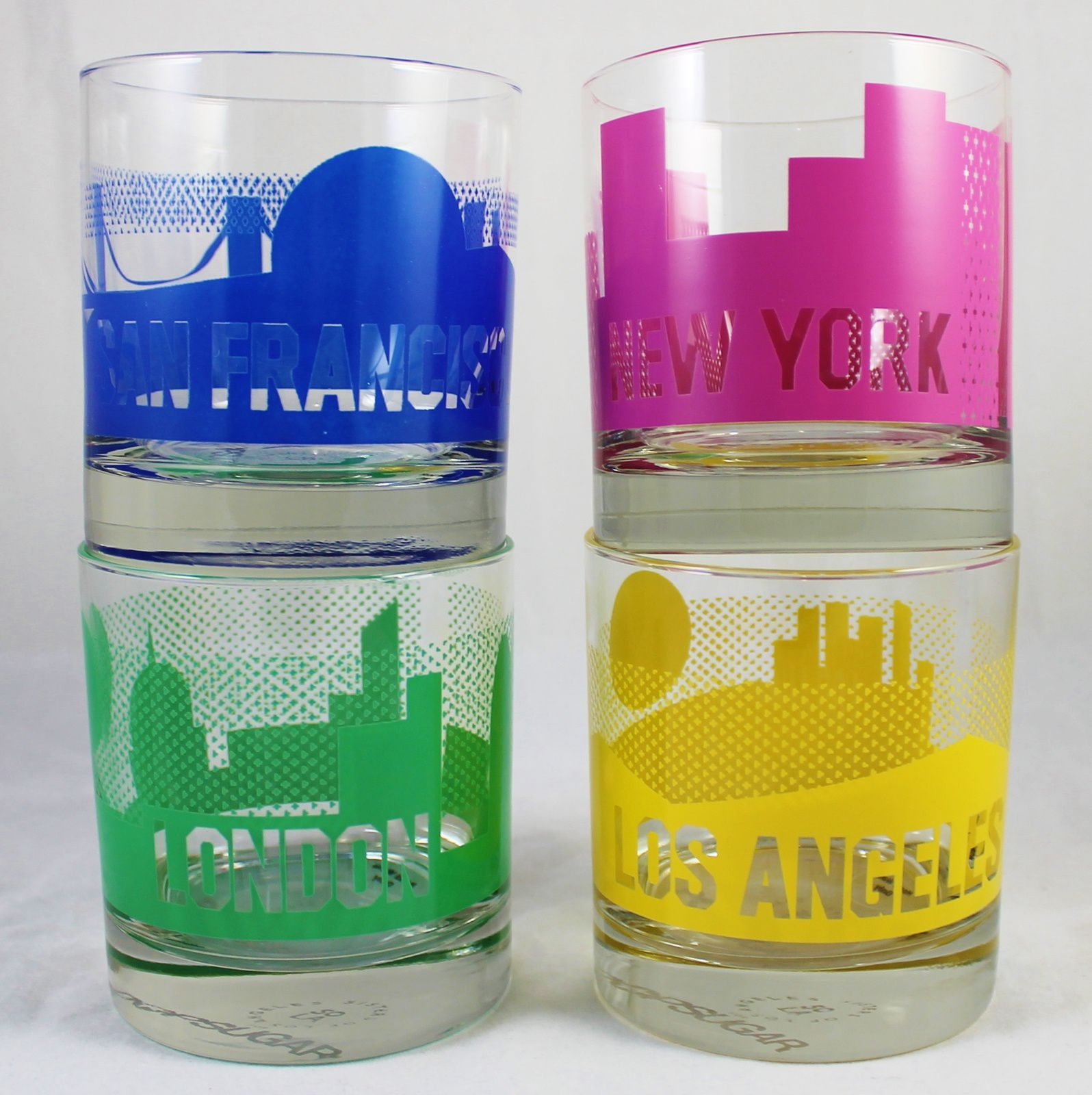 Sisters of Los Angeles 4 Cities Glasses ($45)