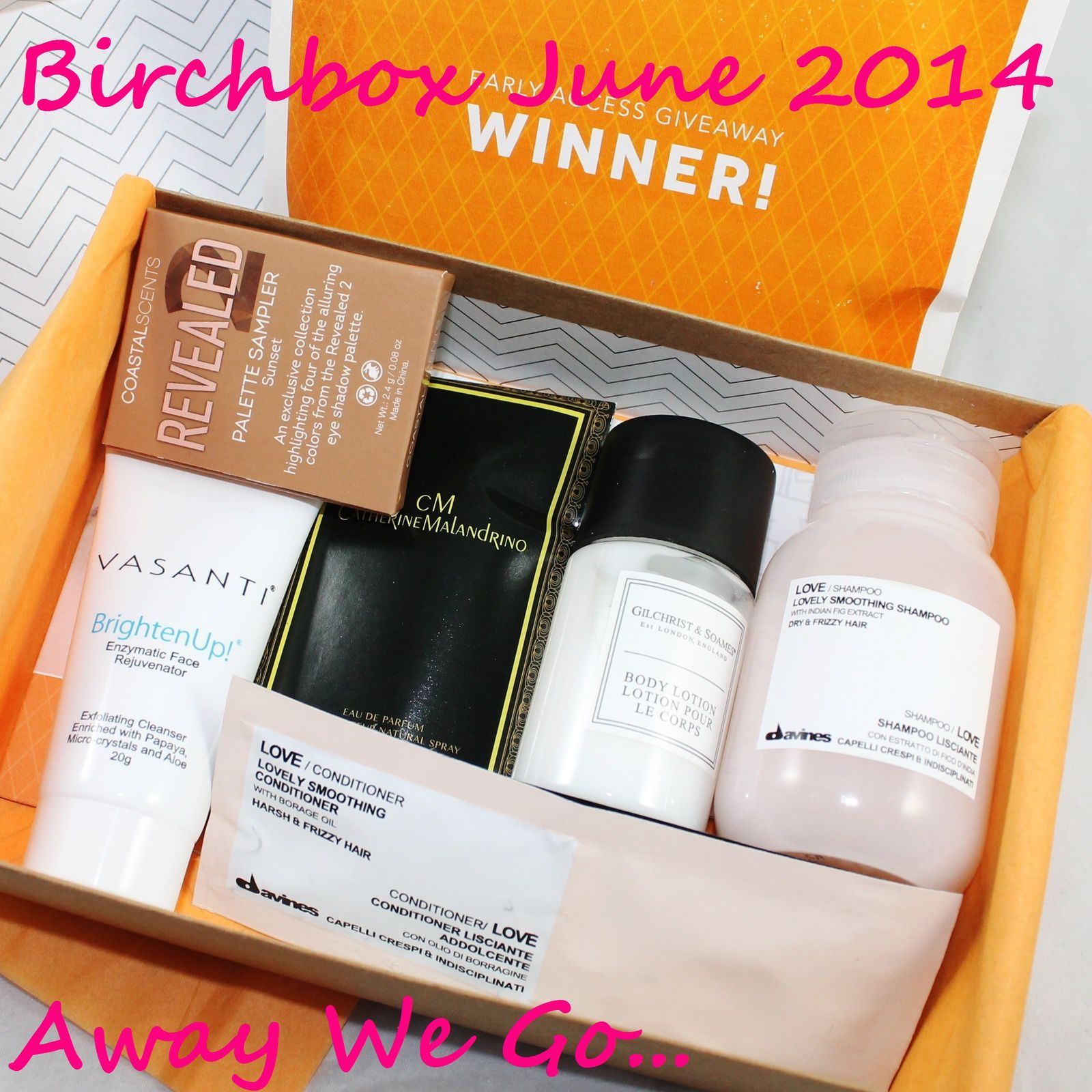 Birchbox June 2014 - Away We Go... (+ an extra I won at a Birchbox Giveaway)