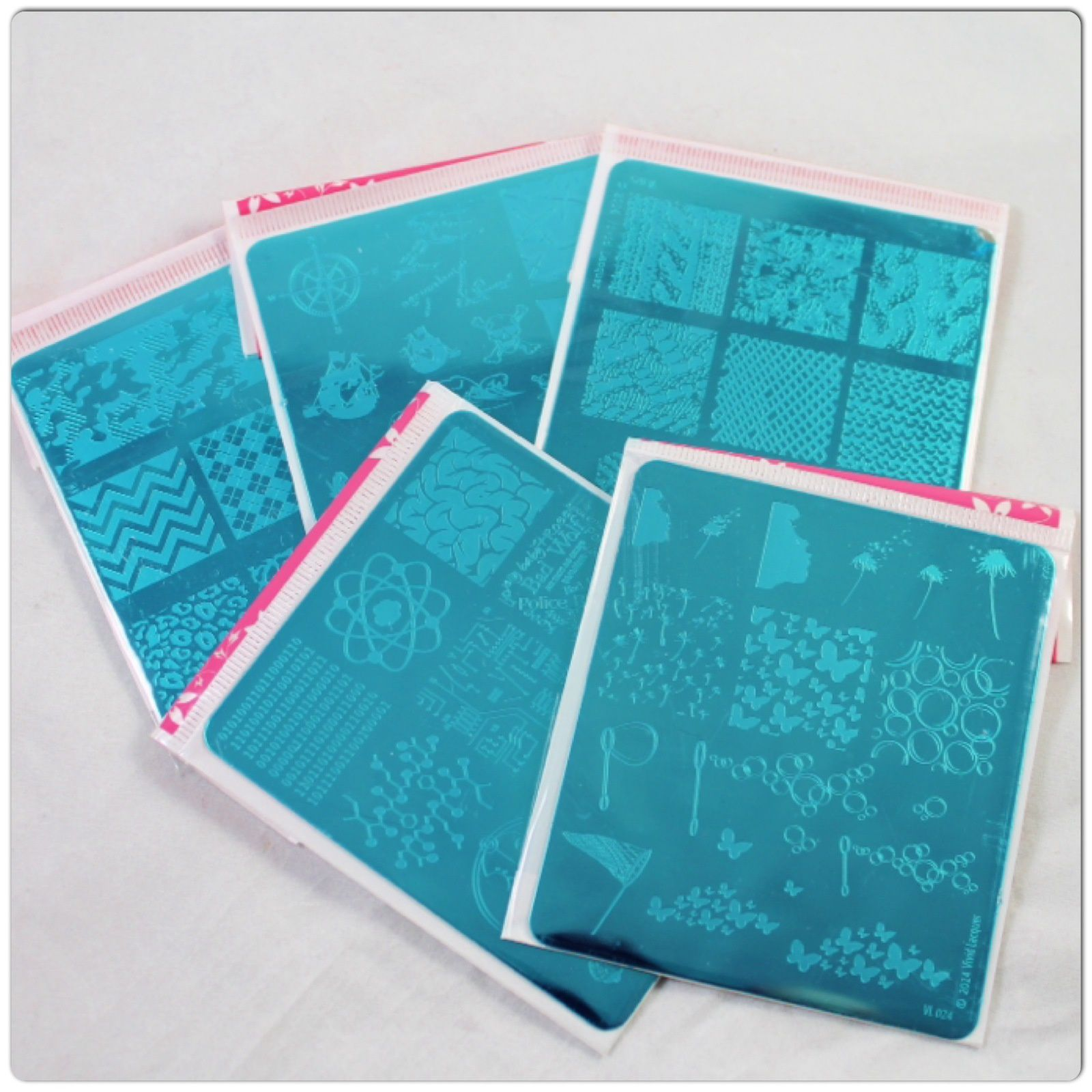 Vivid Lacquer Stamping Plates