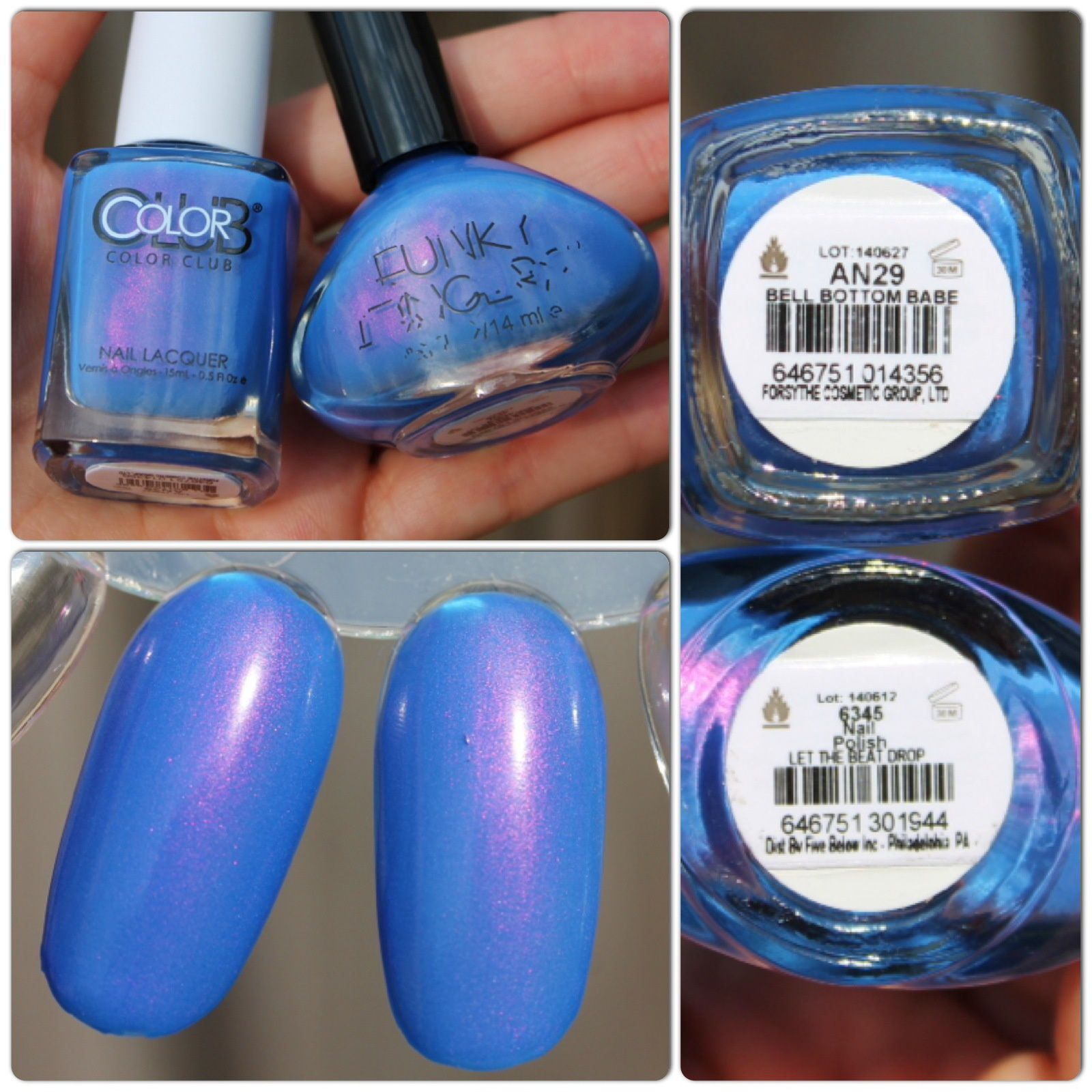 Dupe Alert! Color Club Poptastic 2014 vs. Funky Fingers Summer Neons 2014