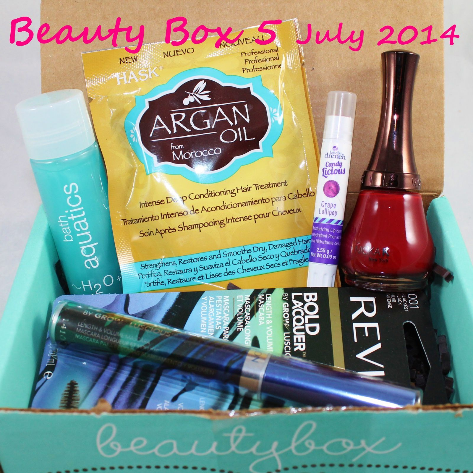 Beauty Box 5 July 2014