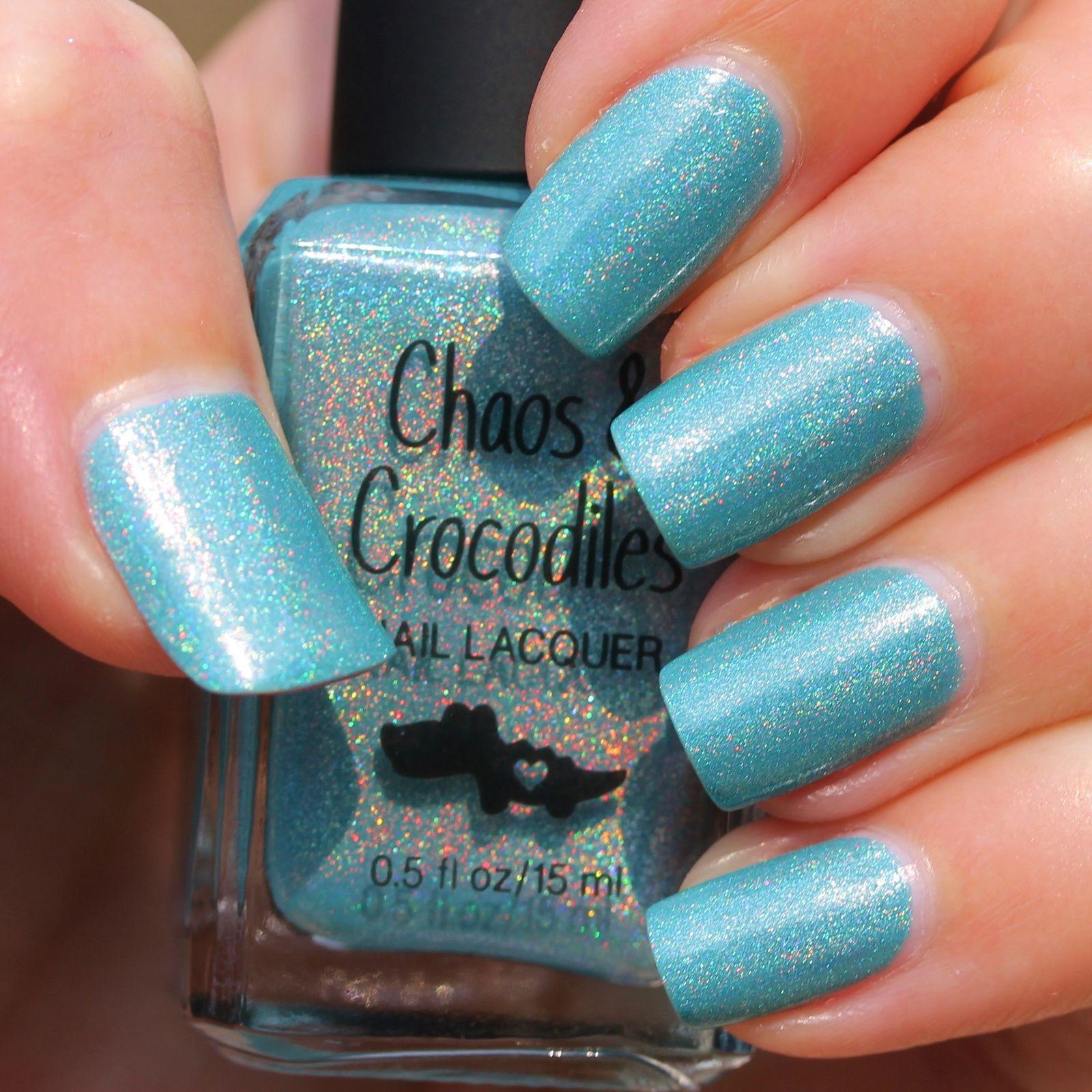 Chaos & Crocodiles Bluebeary (2 coats, no base coat, no top coat)