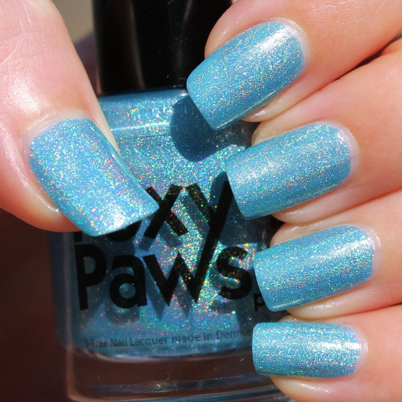 Foxy Paws Polish - Ray of Light (2 coats, no top coat)