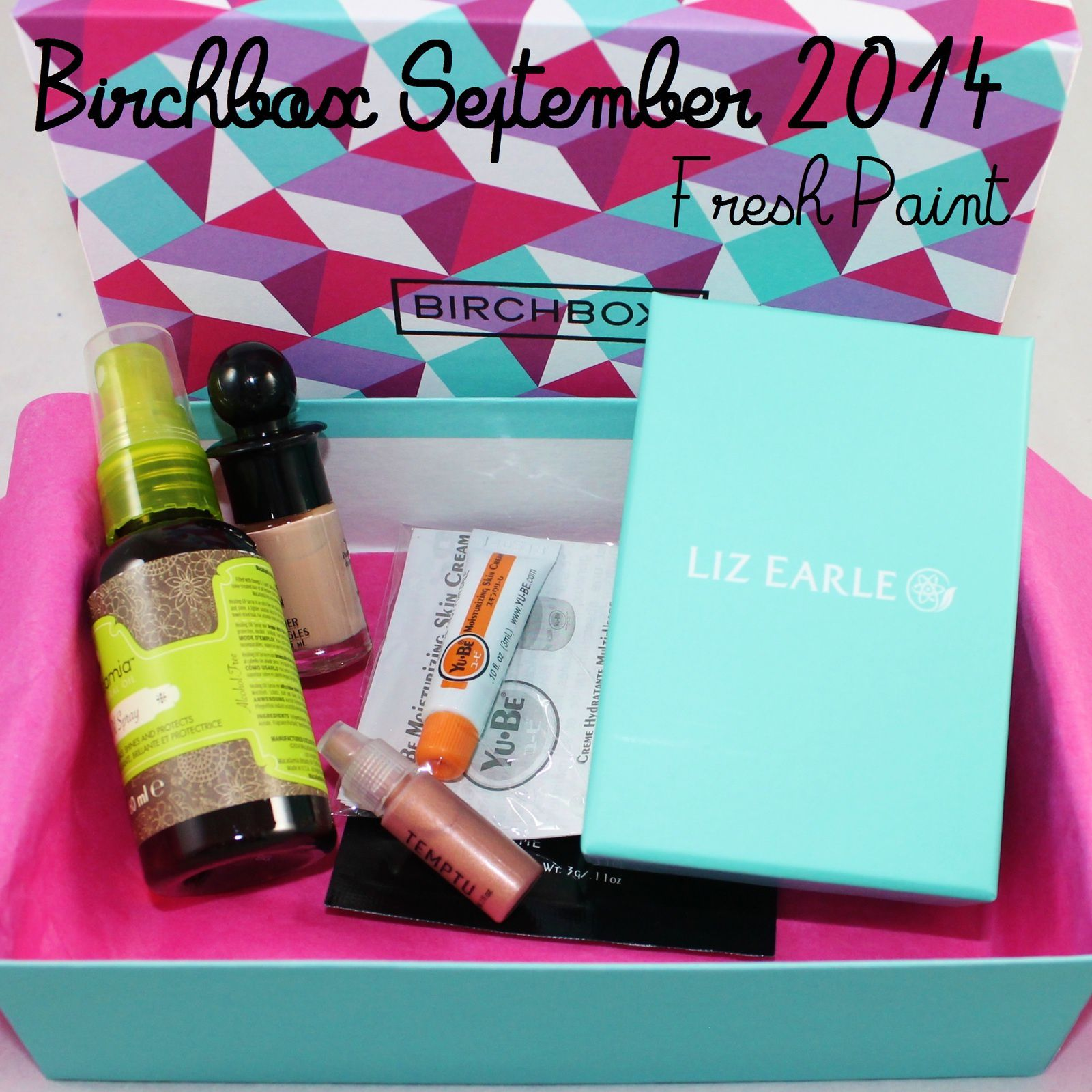 Birchbox September 2014 - Fresh Paint