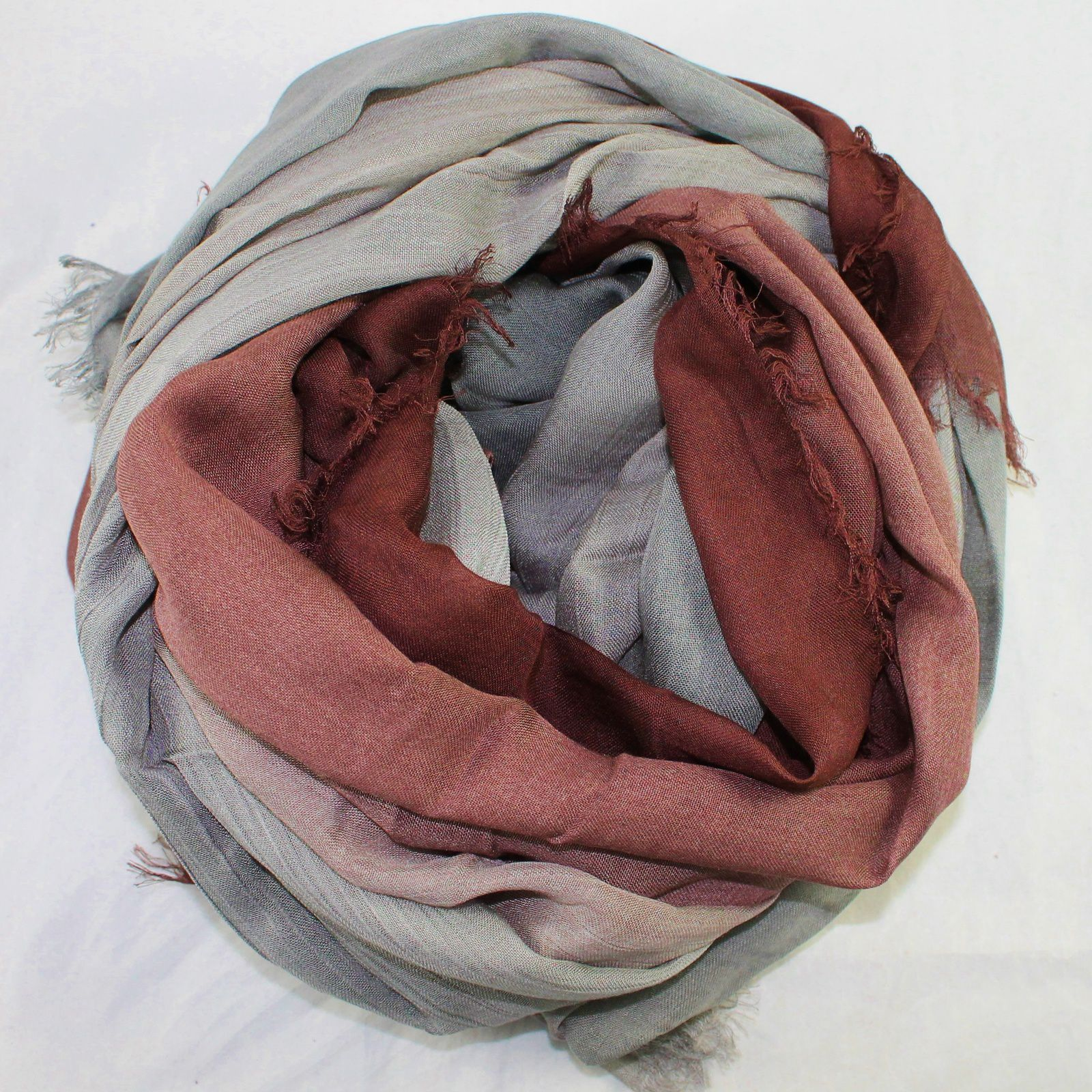 Tila Scarves Modal Gradation Scarf in Raisin