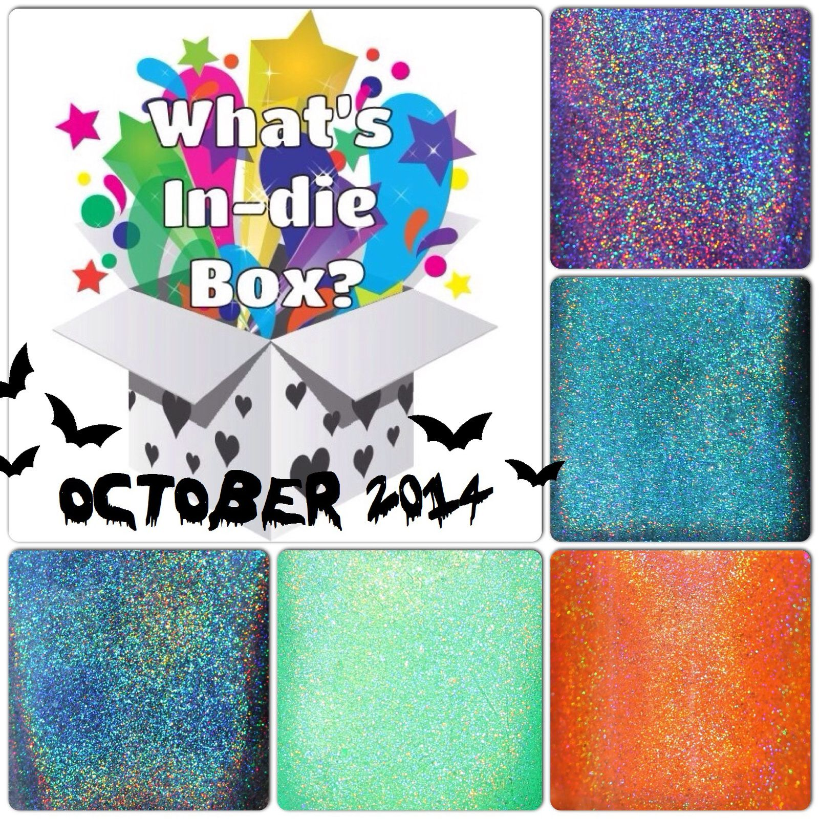 What's Indie Box October 2014 - Holoween