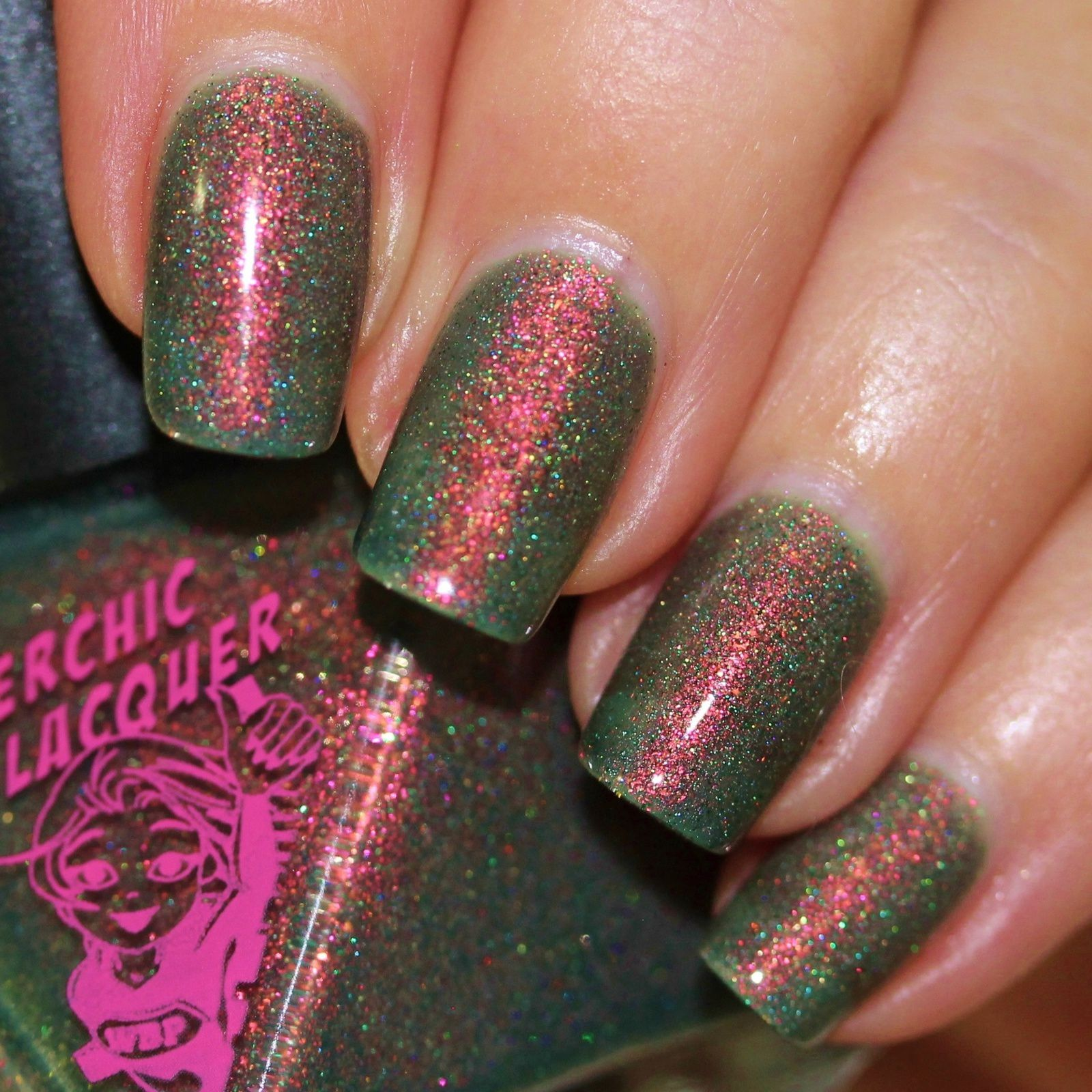 Duri Rejuvacote / Superchic Lacquer You don't Know Jack About My Beans / Sally Hansen Miracle Gel Top Coat