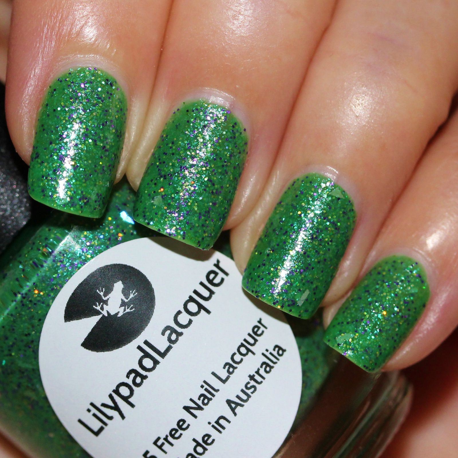 Lilypad Lacquer Tornadus (2 coats, no top coat)