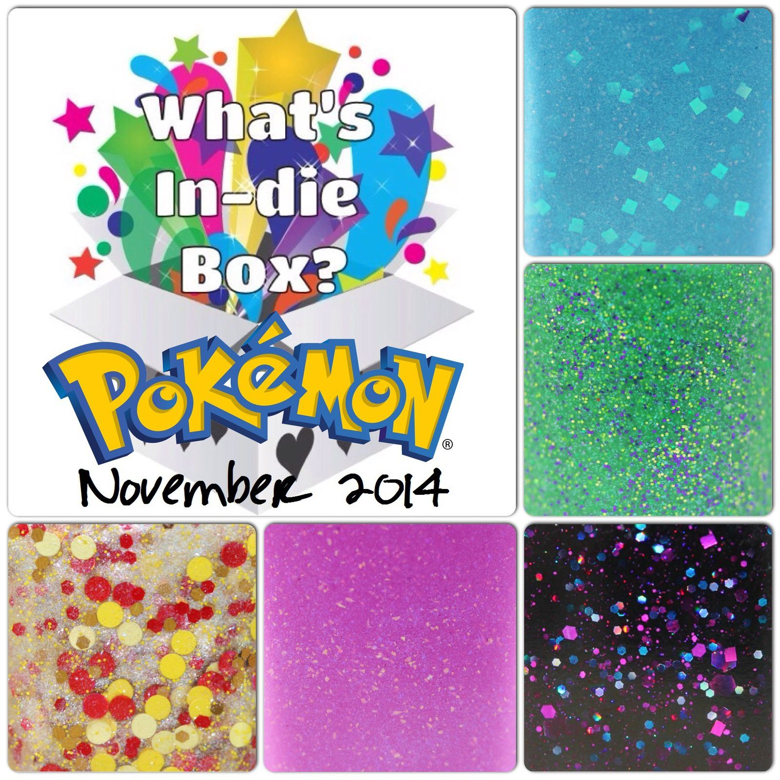 What's Indie Box November 2014 - Pokémon