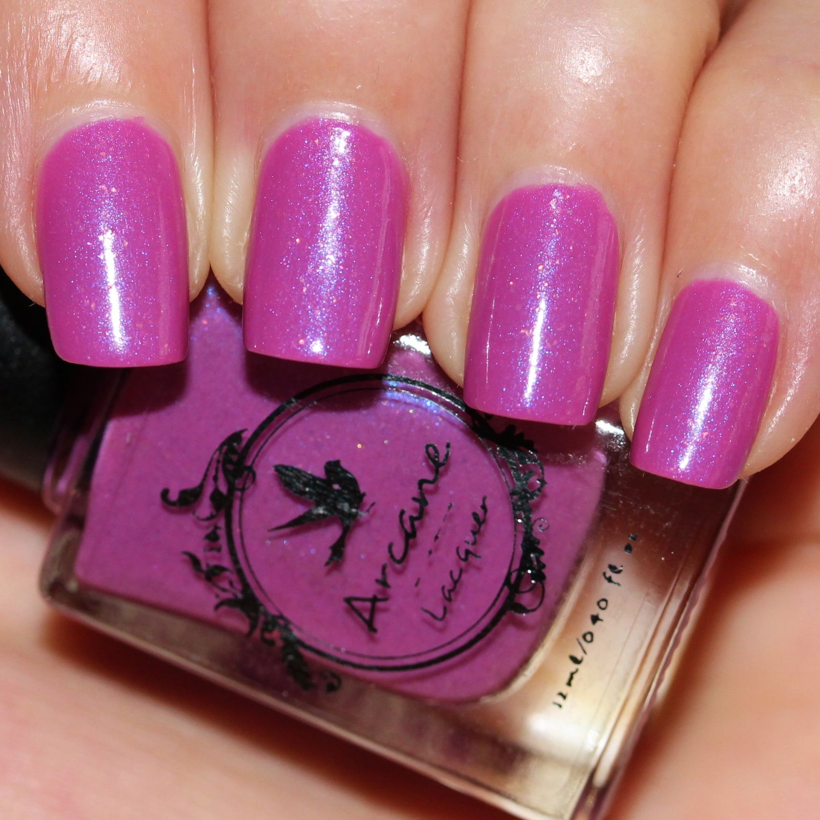 Arcane Lacquer Glooms Vileplume (2 coats, no top coat)