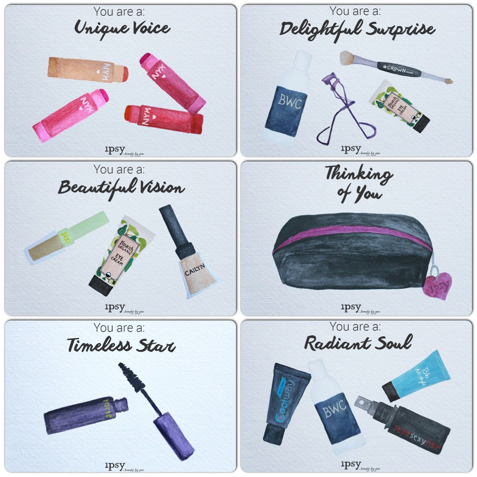 Ipsy December 2014 - Thinking of You