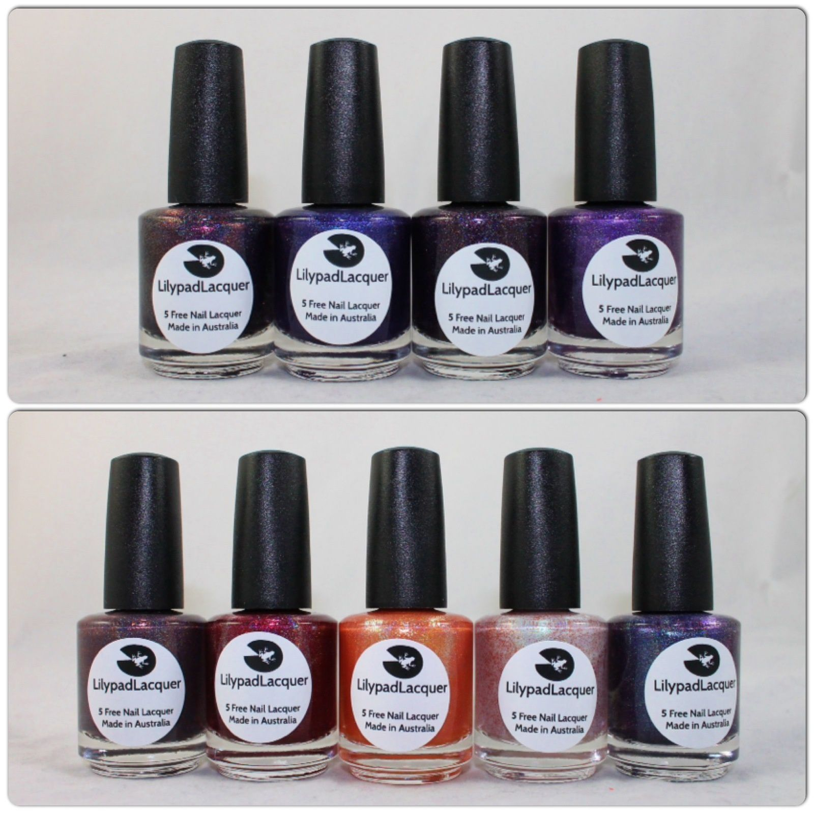 Lilypad Lacquer Mercredi, Cousin Machin, Pugsley & Good Girl Gone Bad. Lilypad Lacquer Beltelgeuse, The Wedding, The Pumkin King, Sally's Song & Edwardo The Barber.