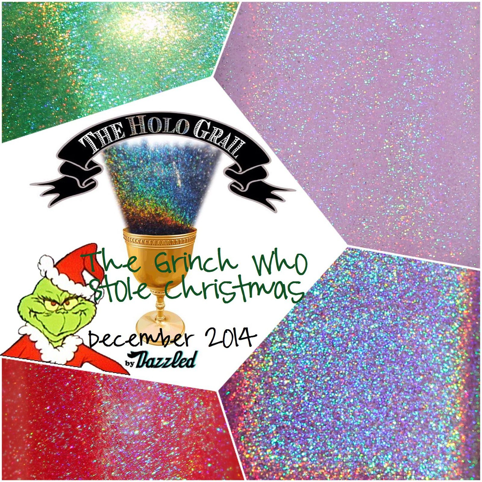 The Holo Grail Box by Dazzled - December 2014 - The Grinch Who Stole Christmas