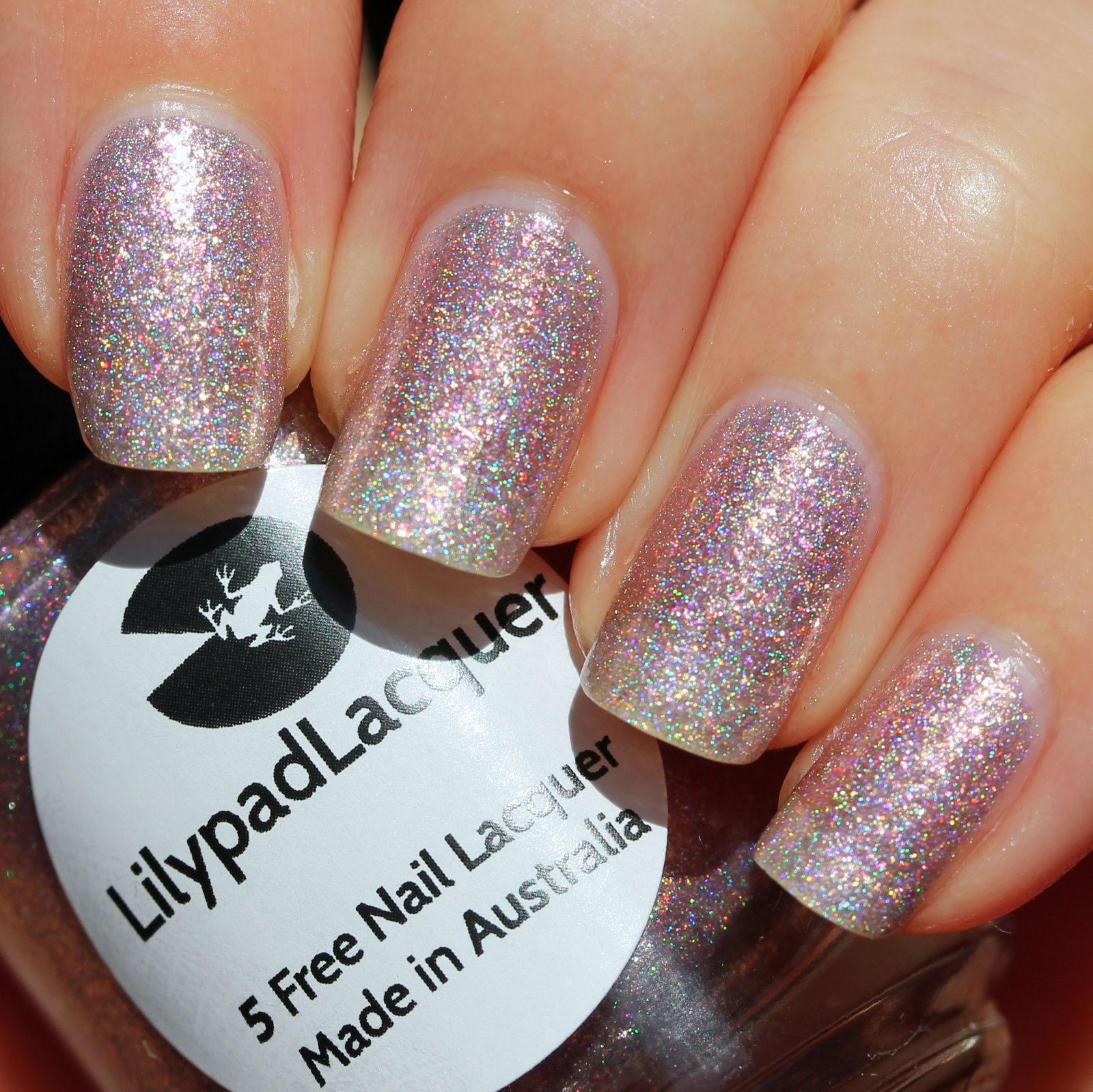 Lilypad Lacquer Magical Moments (2 coats, no top coat)
