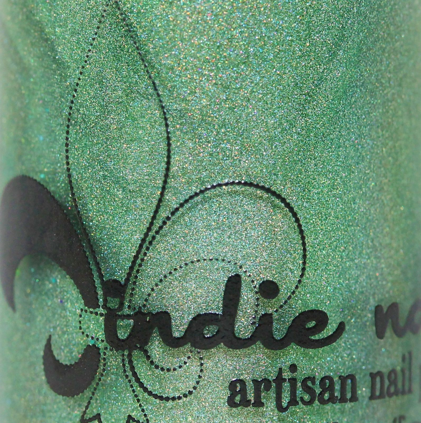 Jindie Nails Today is the 1st Day of the Rest of your Life (2 coats, no top coat)