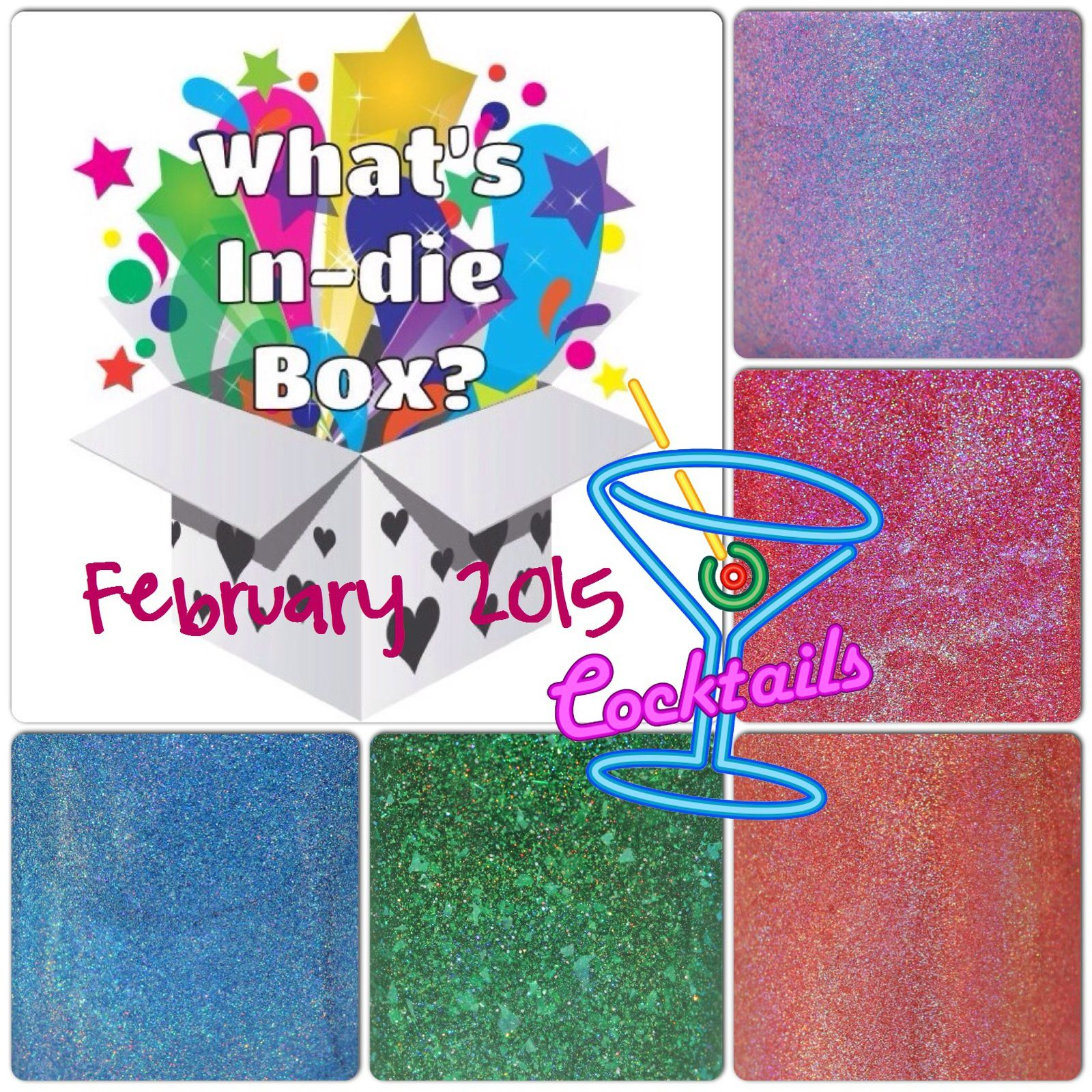 What's Indie Box - February 2015 - Cocktails