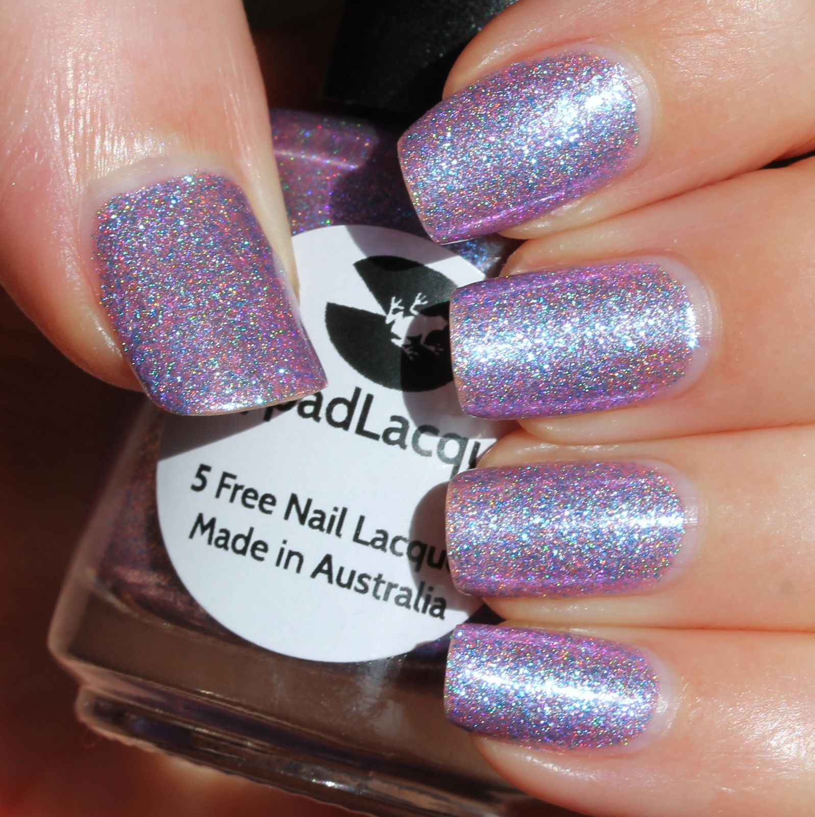 Lilypad Lacquer Illuminate (2 coats, no top coat)