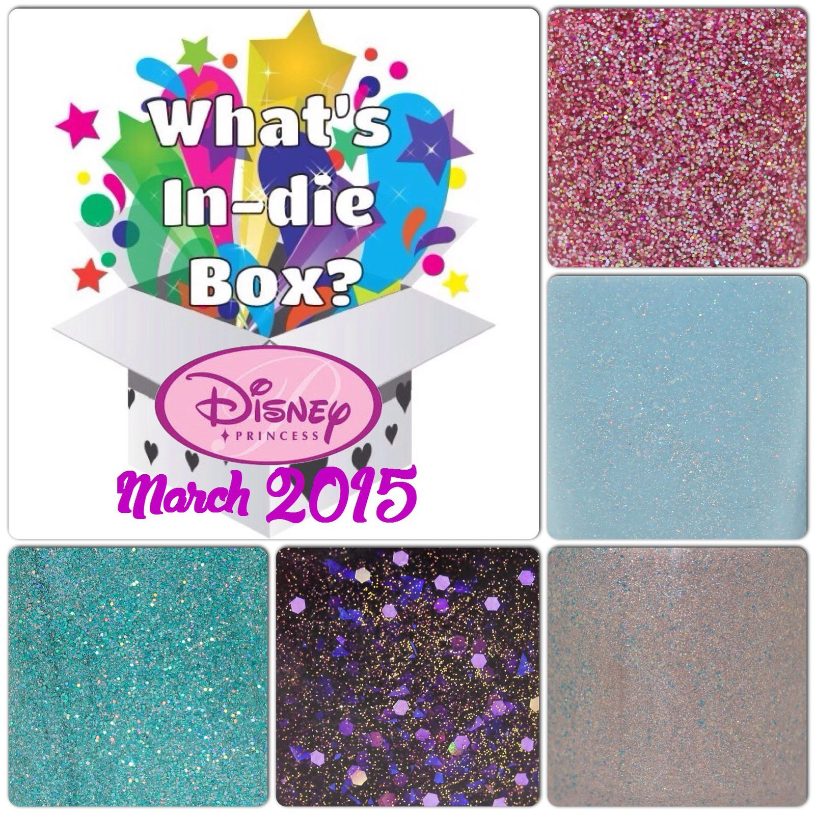 What's Indie Box - March 2015 - Disney Princess