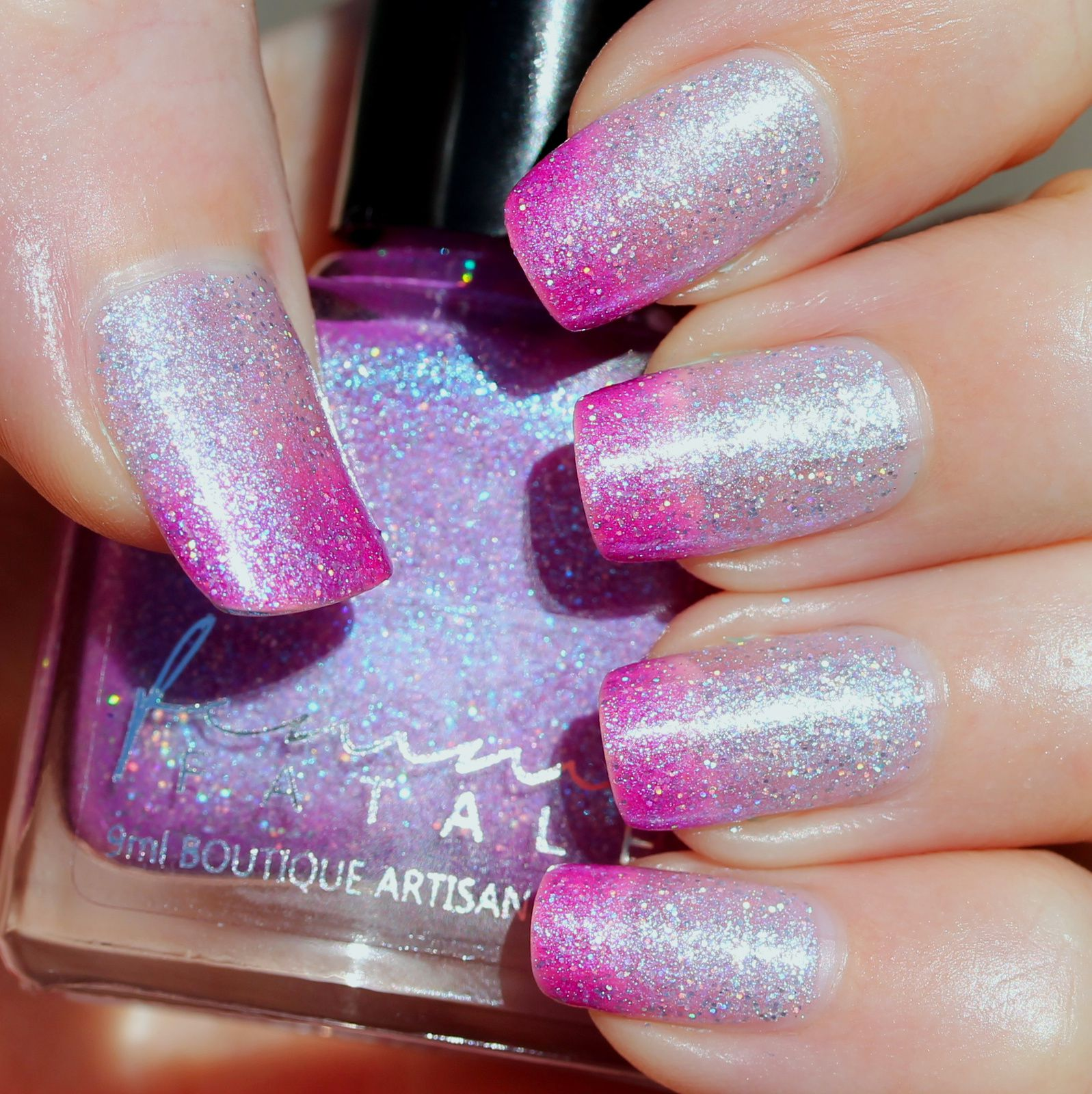 Femme Fatale Cosmetics Who is Fairest of Them All? (2 coats, no top coat)