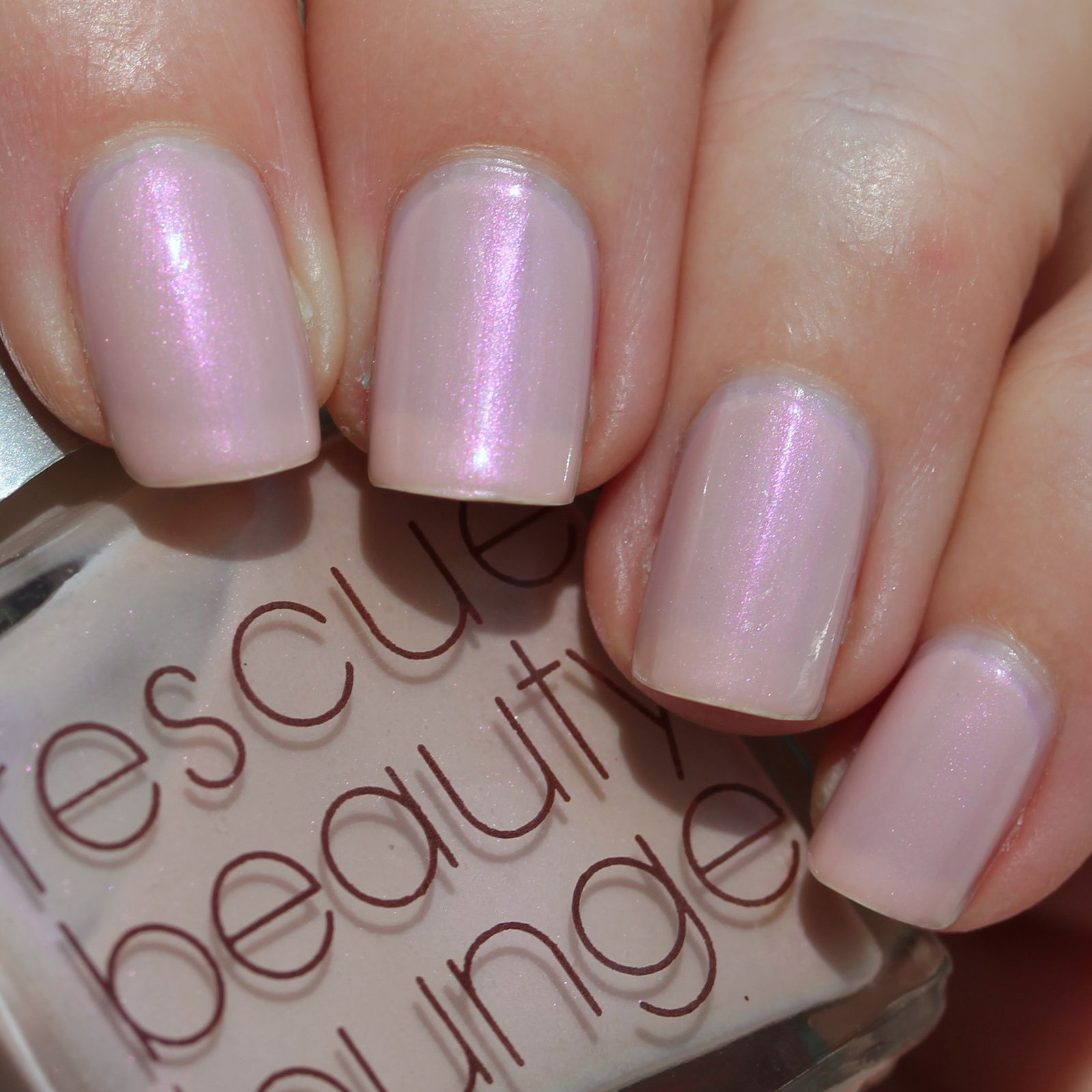Essie Protein Base Coat / Rescue Beauty Lounge Thank You / HK Girl Top Coat