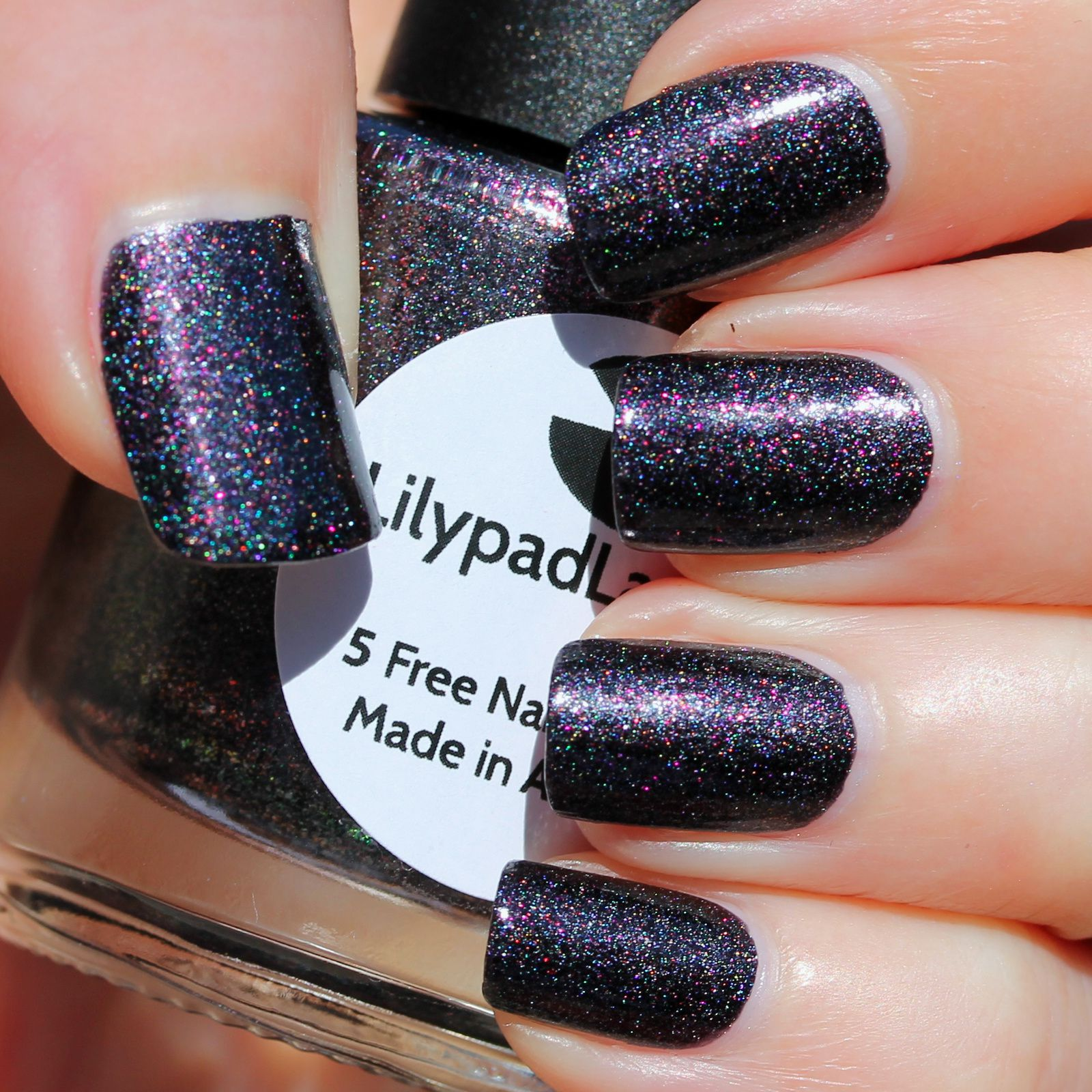 Lilypad Lacquer Cat in the Hat (2 coats, not top coat)