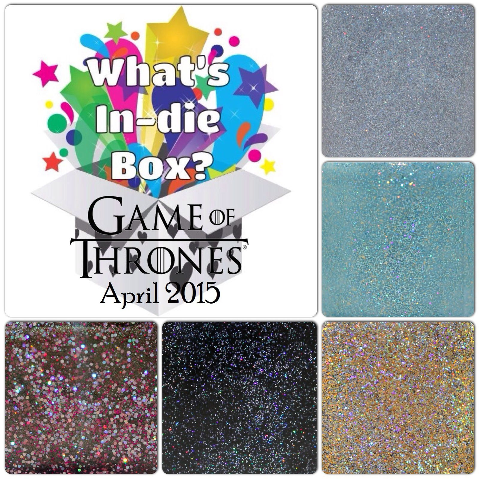 What's Indie Box - April 2015 - Game of Thrones