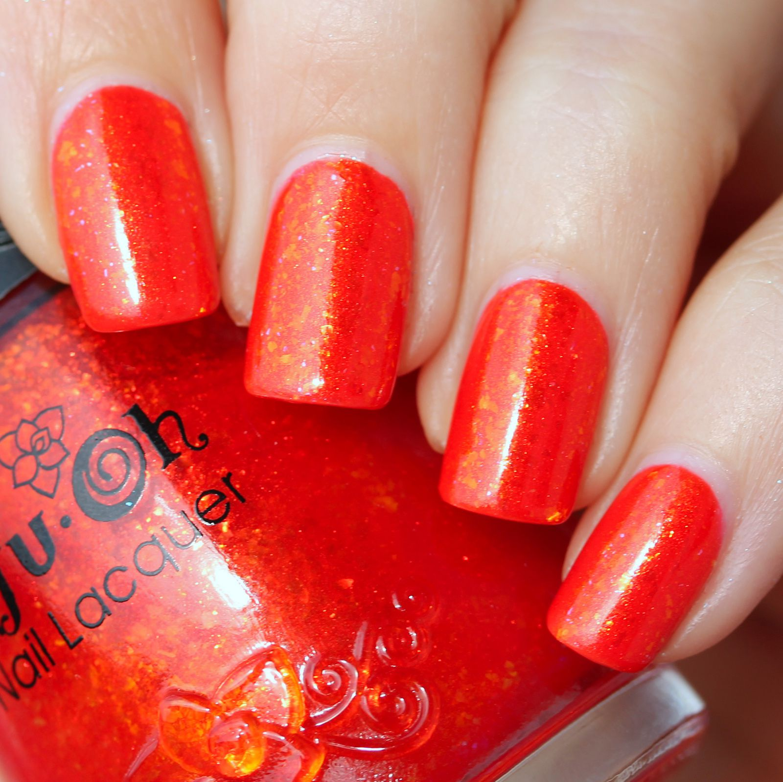 Essie Protein Base Coat / Sinful Colors Coral Riff / Nfu Oh 45 / Sally Hansen Miracle Gel Top Coat
