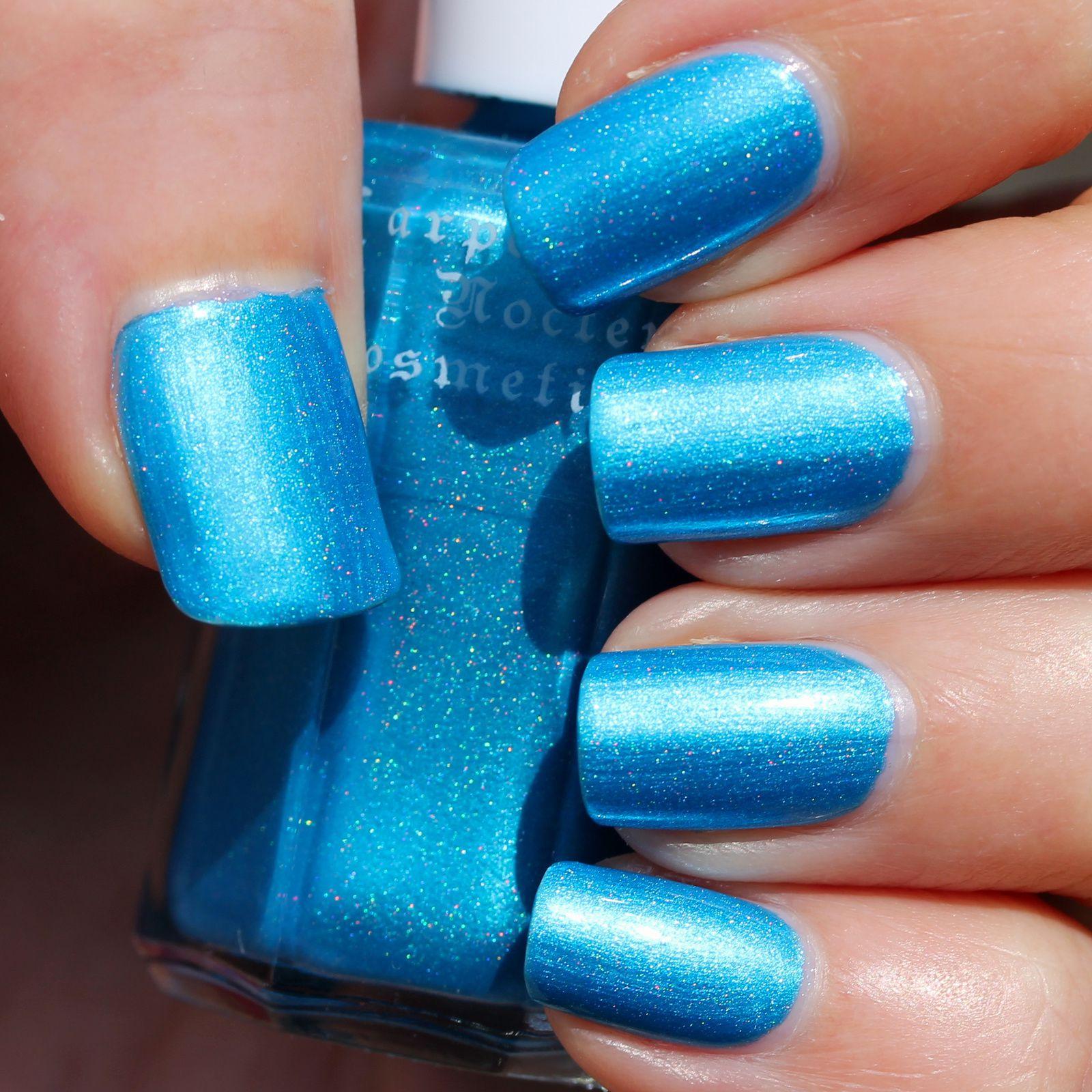 Duri Rejuvacote / Carpe Noctem Cosmetics King Triton /  Sally Hansen Miracle Gel Top Coat