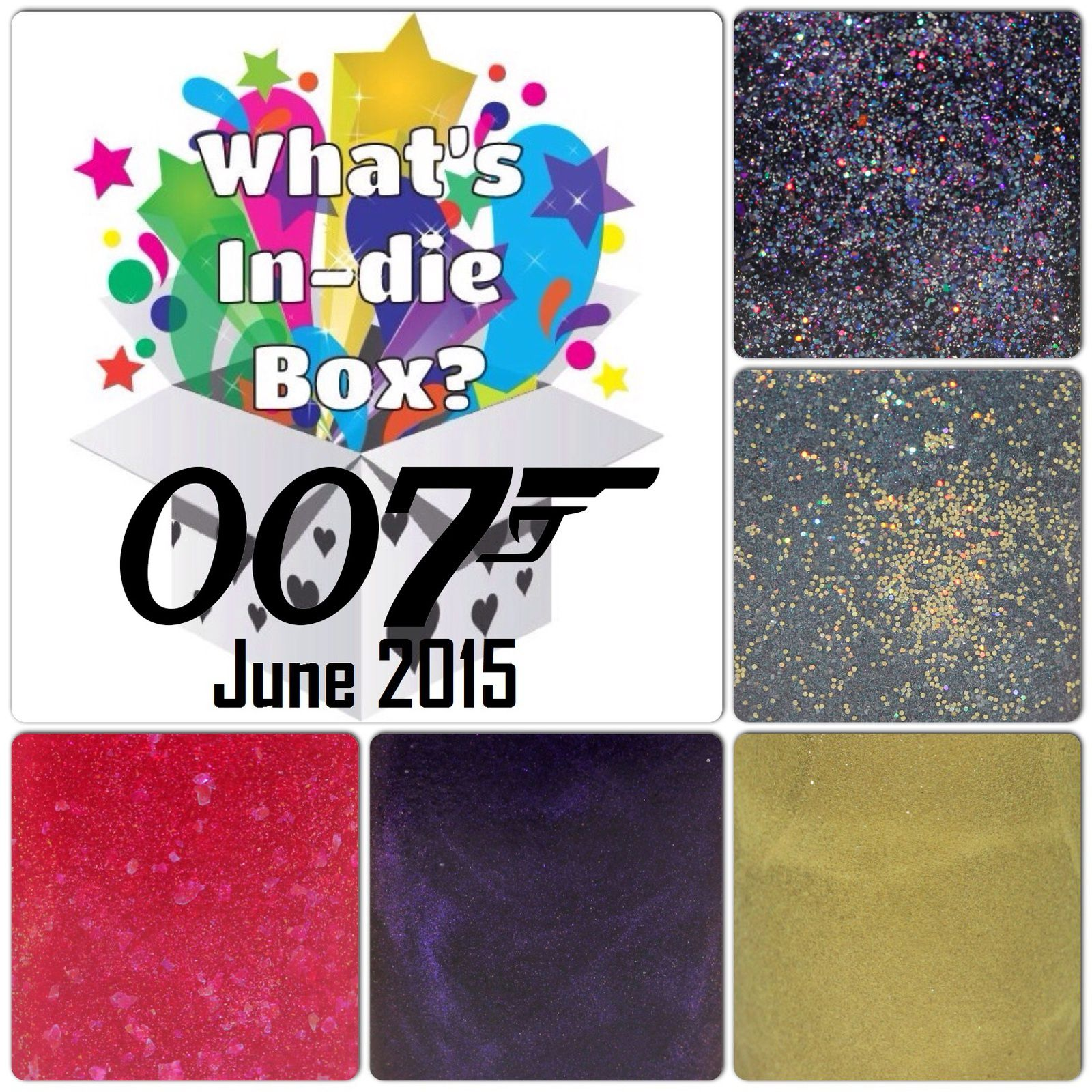 What's Indie Box - June 2015 - James Bond Movies