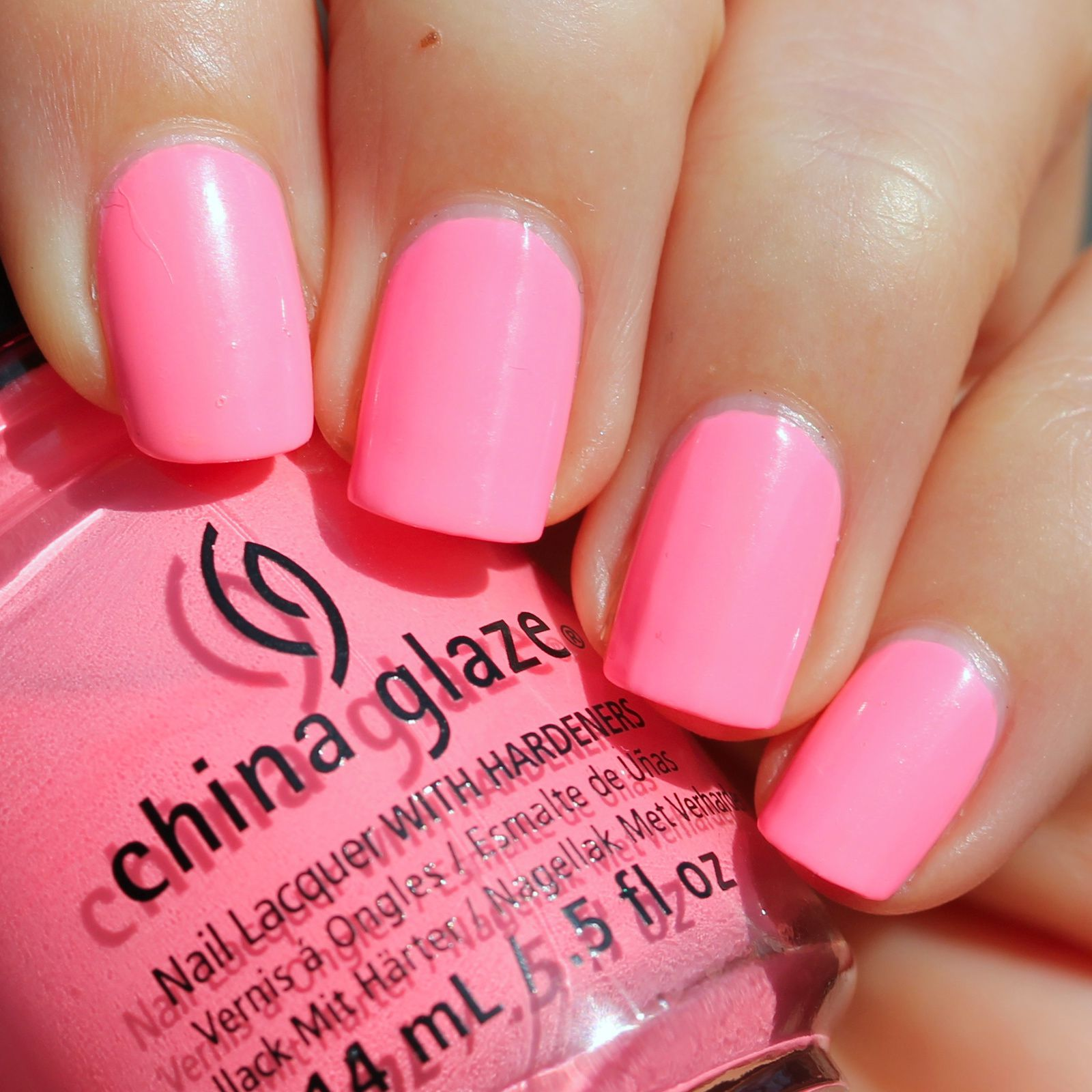 Duri Rejuvacote / China Glaze Neon & On & On / Poshe Top Coat