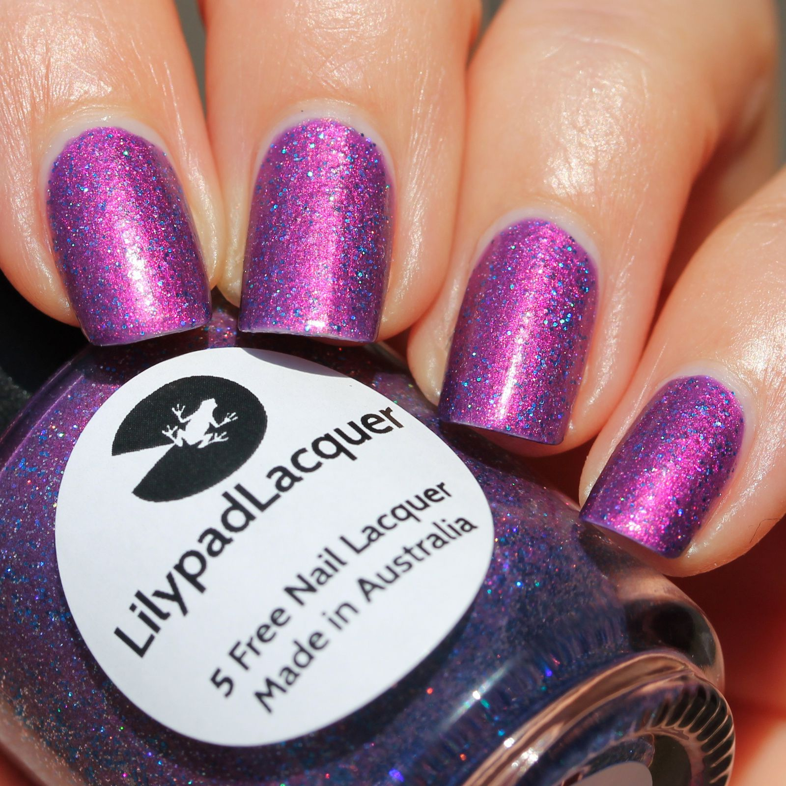 Duri Rejuvacote / Lilypad Lacquer Whimsical / Sally Hansen Miracle Gel Top Coat