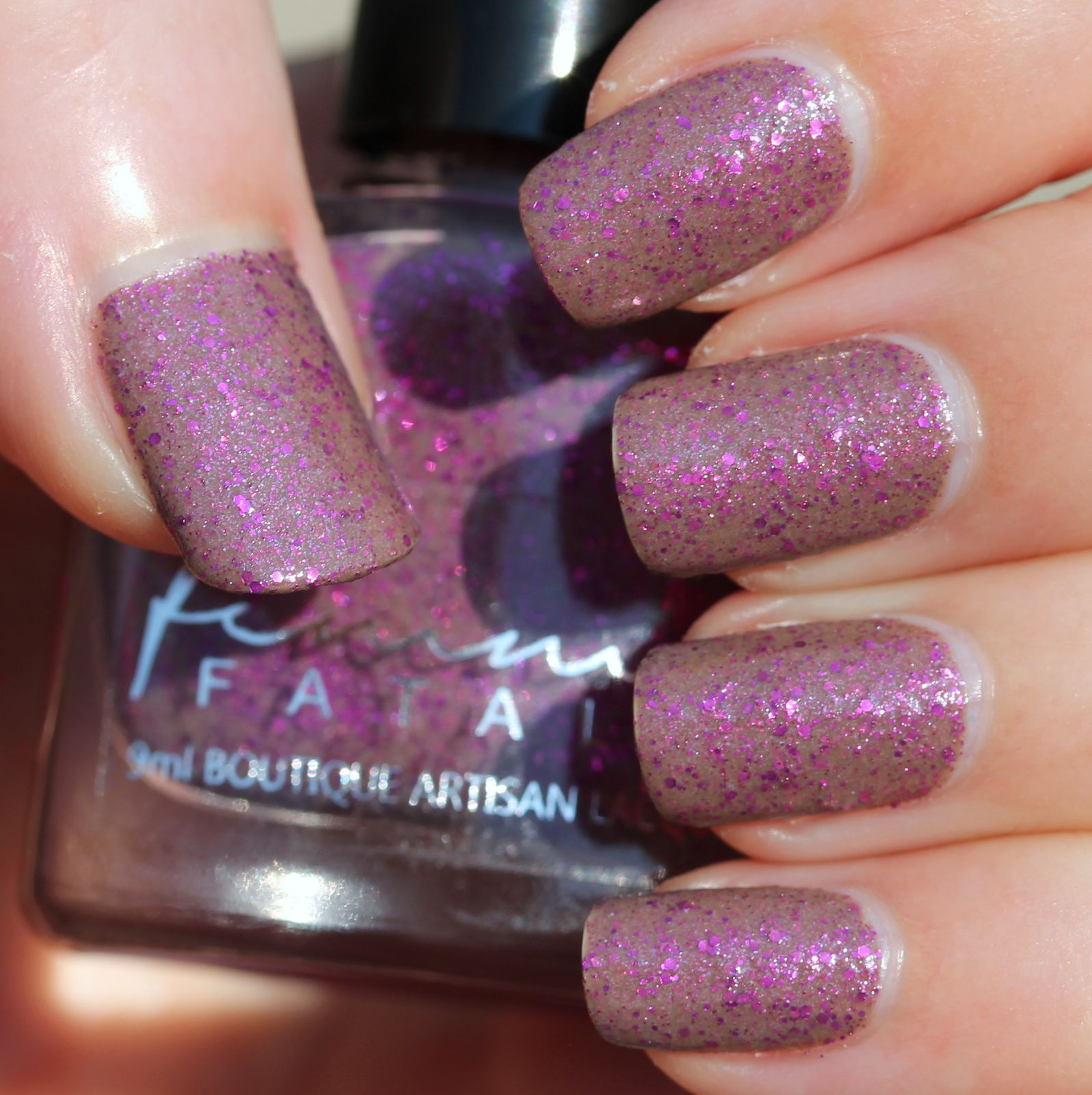 Femme Fatale Cosmetics - Always Tea-Time (3 coats, no top coat)