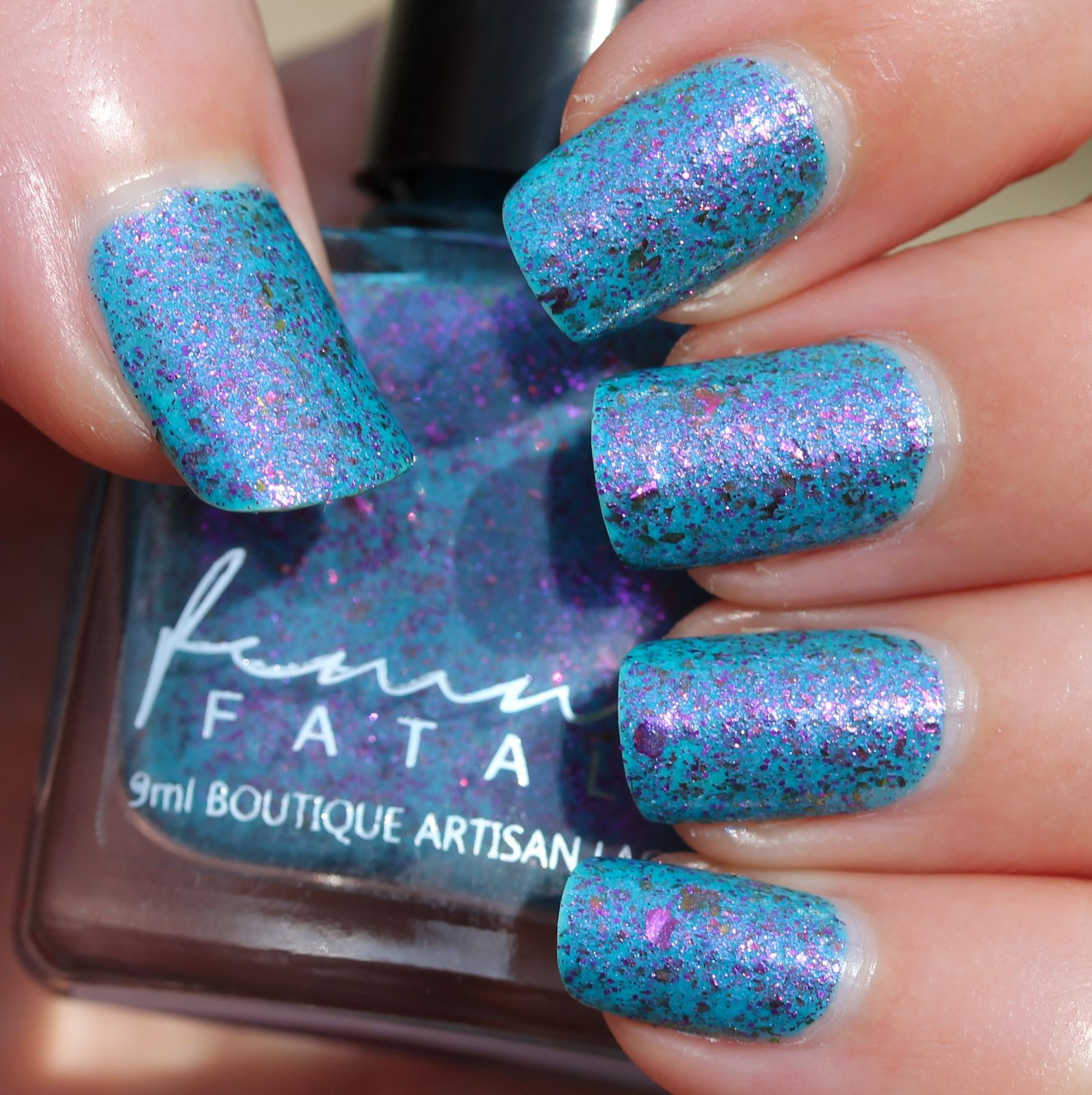 Femme Fatale Cosmetics - Wonderland (2 coats, no top coat)