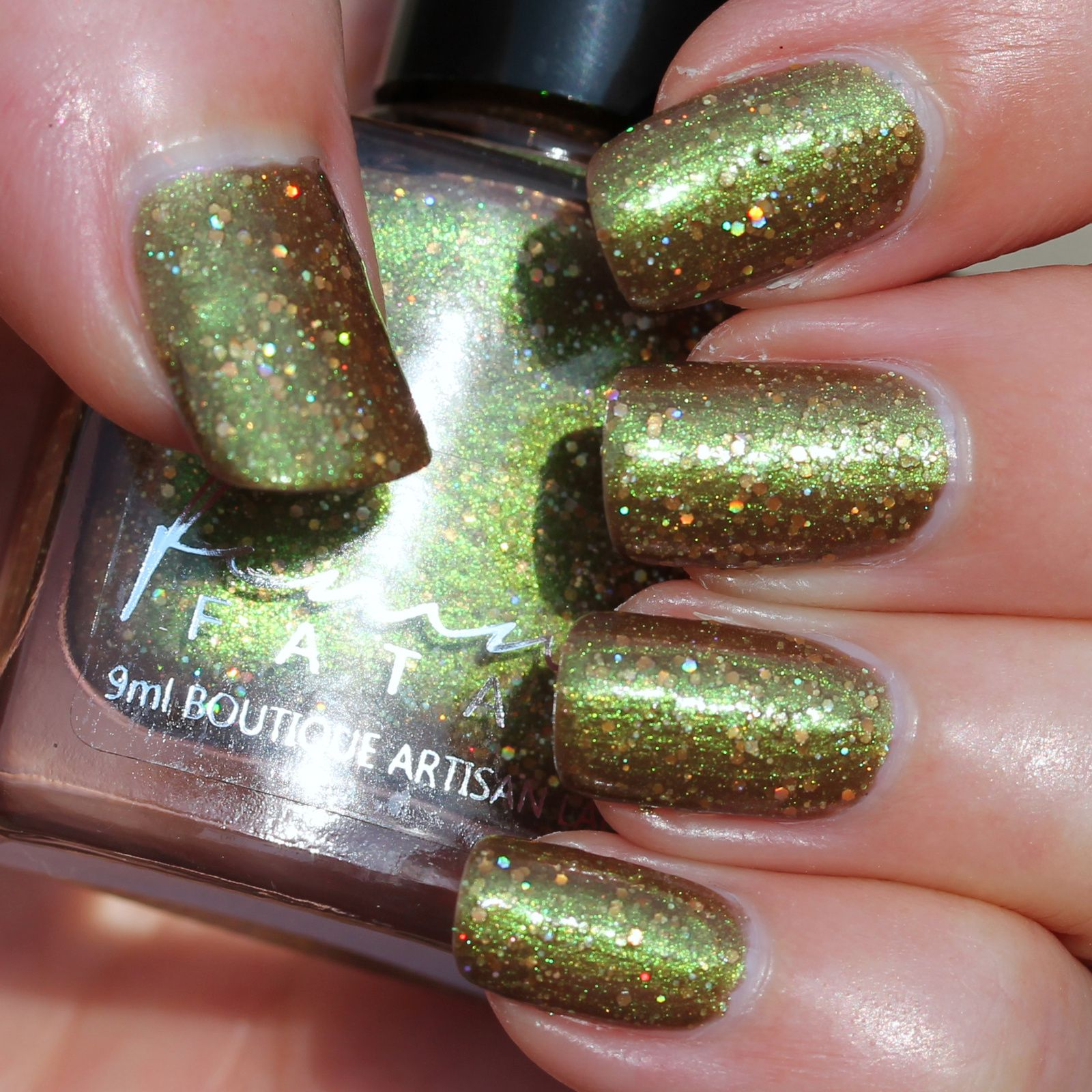 Femme Fatale Cosmetics - March Hare (2 coats, no top coat)