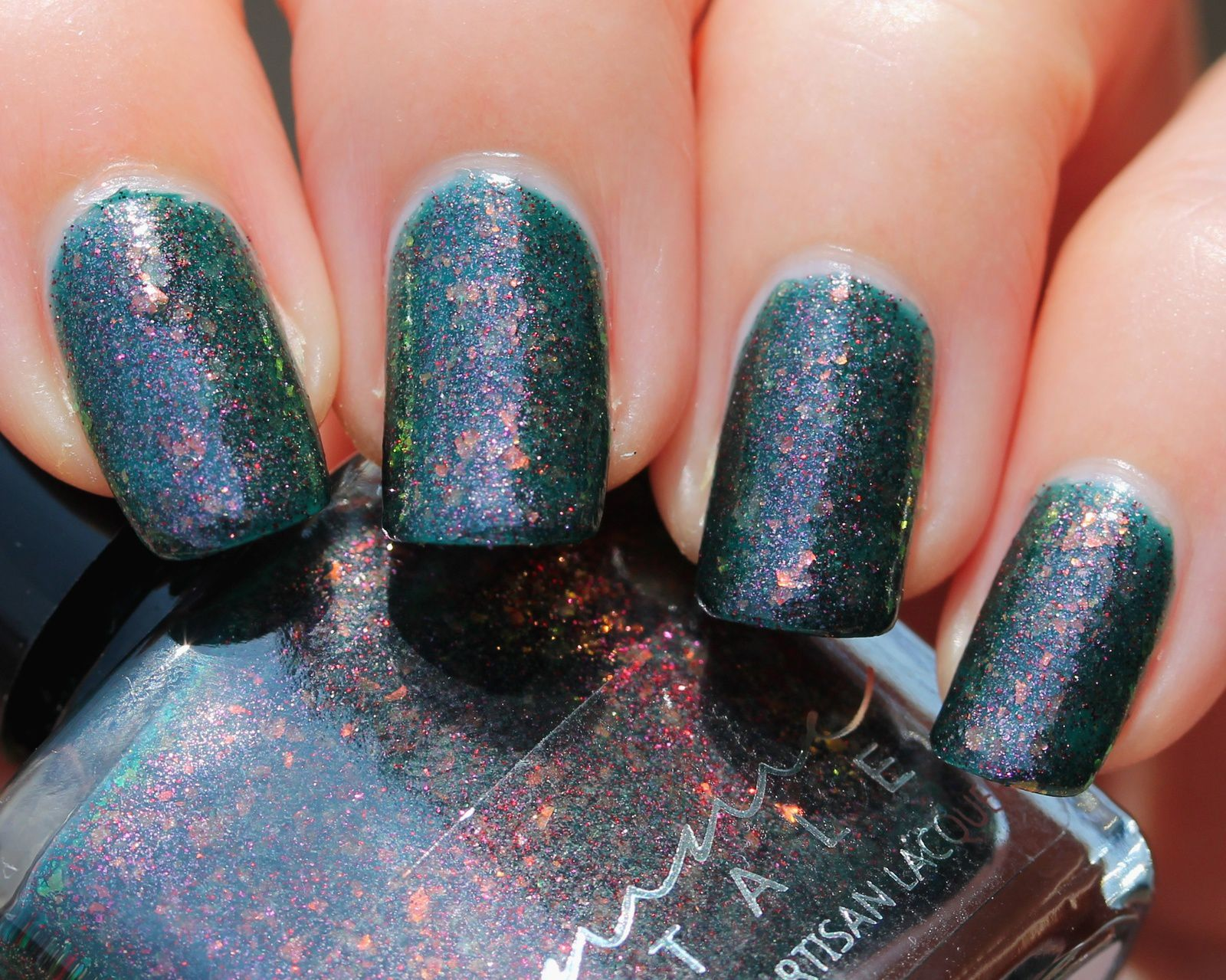Femme Fatale Cosmetics - Mad as a Hatter (3 coats, no top coat)