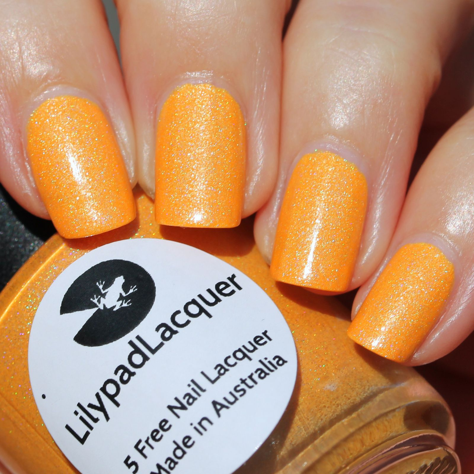 Duri Rejuvacote / Lilypad Lacquer Mango Buzz / Sally Hansen Miracle Gel Top Coat