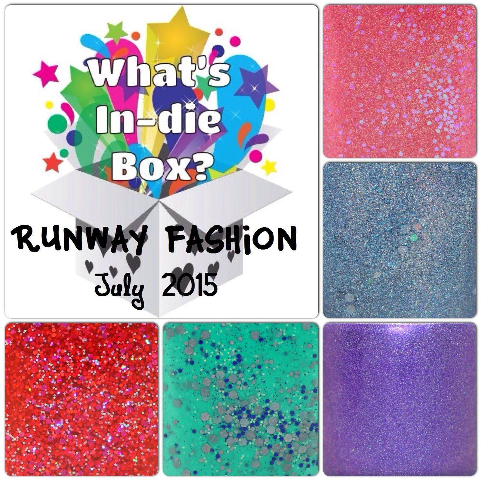 What's Indie Box - July 2015 - Runway Fashion