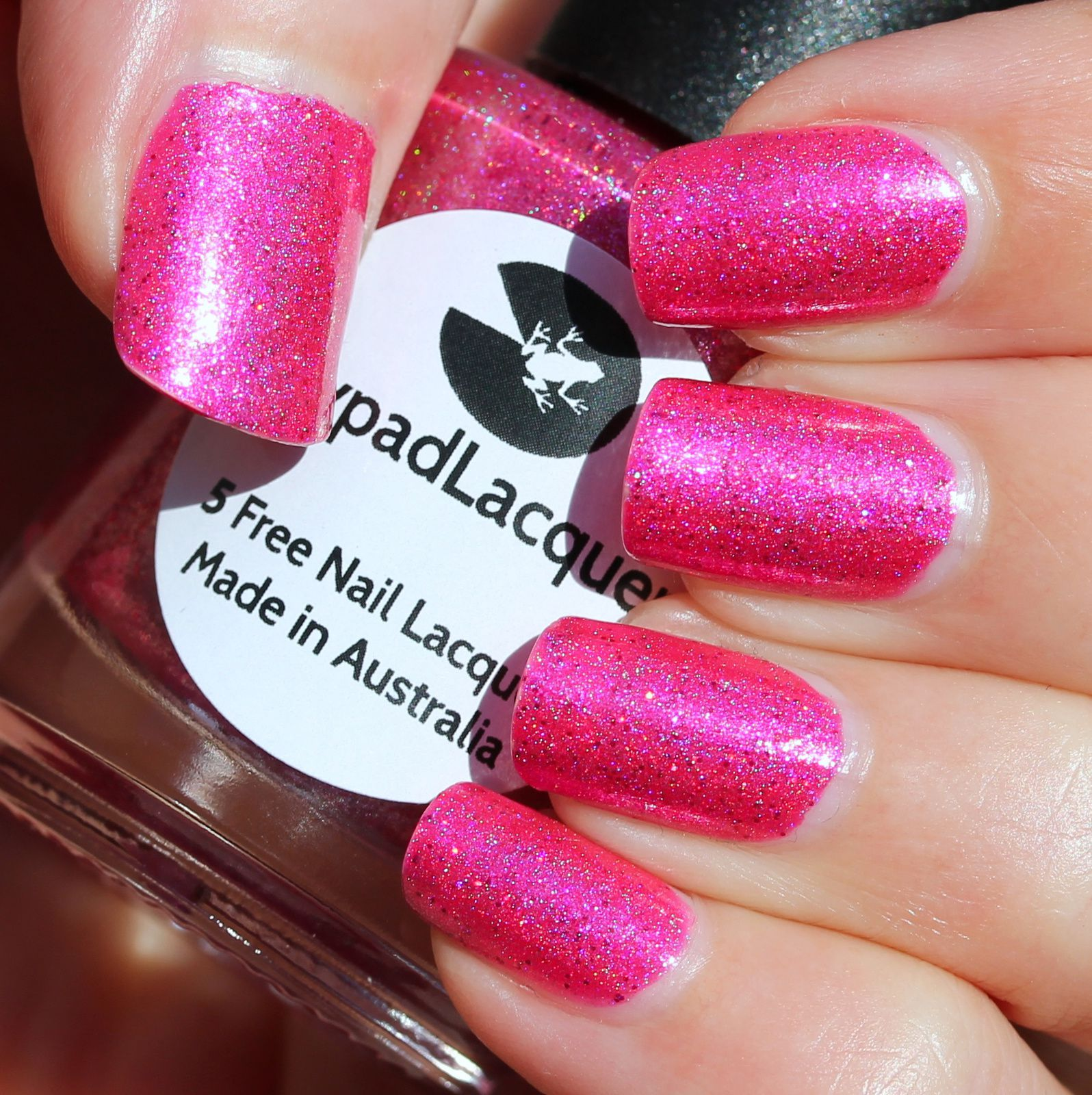 Lilypad Lacquer Pink Polish Preferred (Group Custom)
