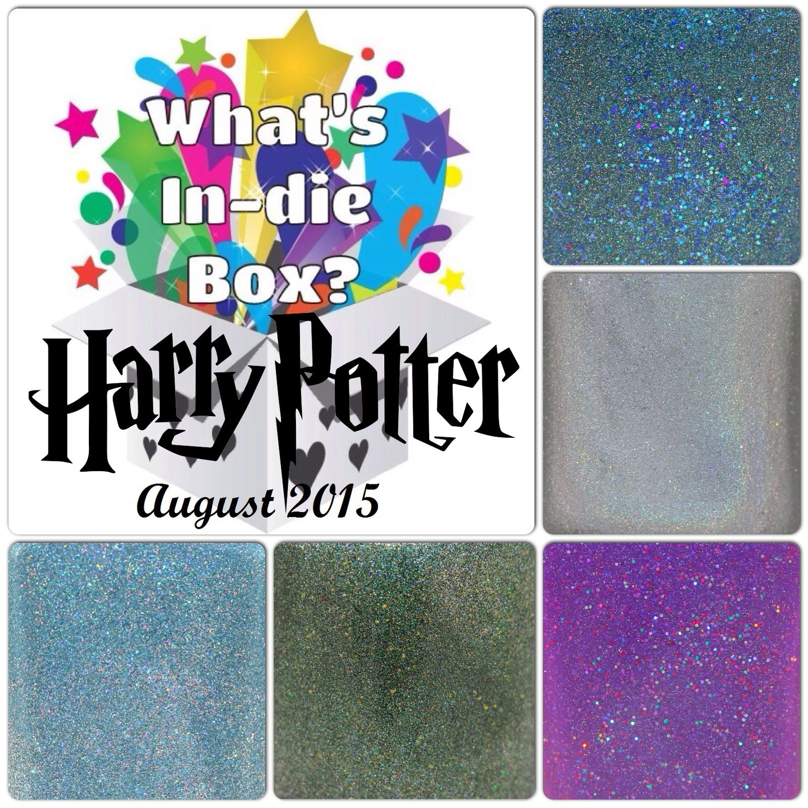 What's Indie Box - August 2015 - Harry Potter