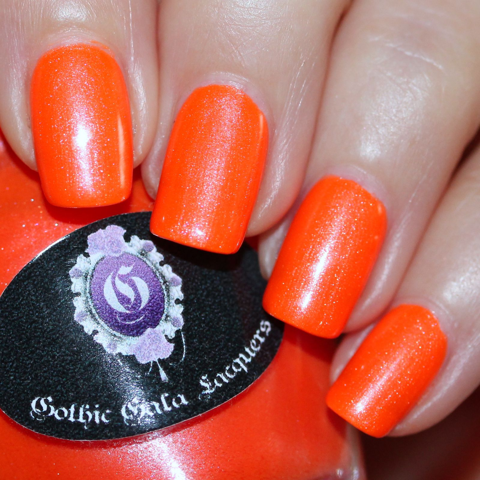 Duri Rejuvacote / Gothic Gala Lacquers Orange Crush / HK Girl Top Coat