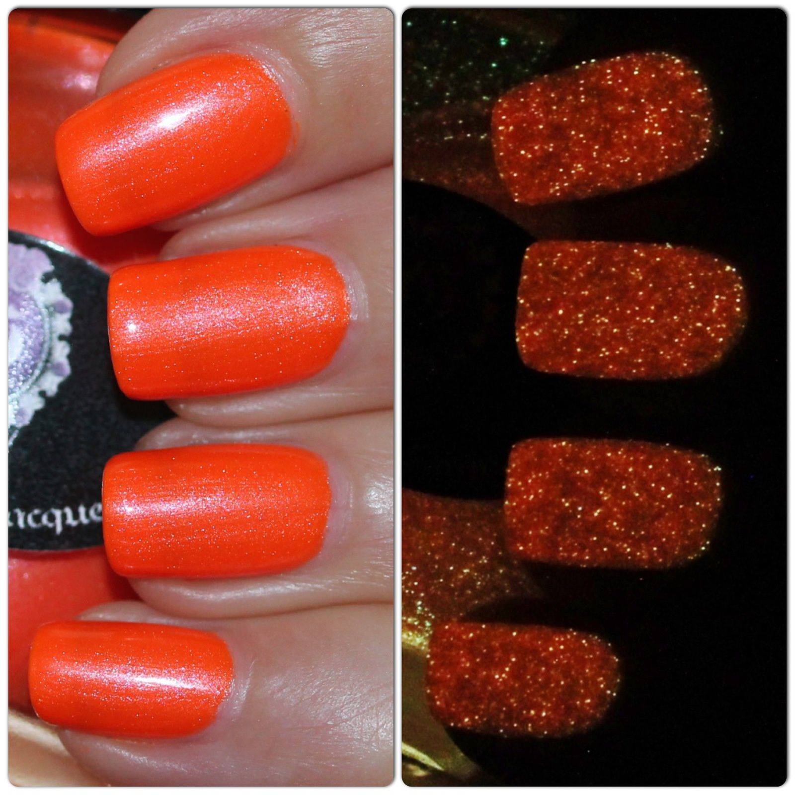 Gothic Gala Lacquers Orange Crush (Glows in the Dark)