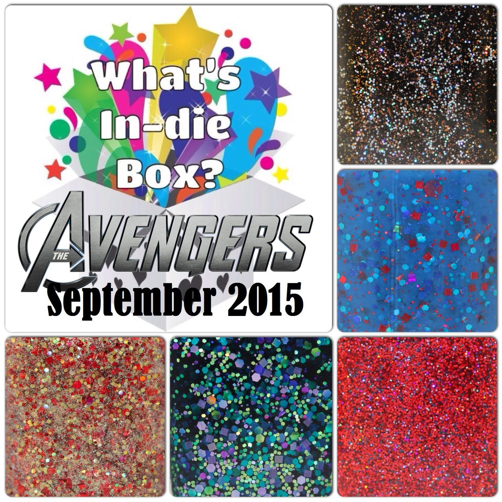 What's Indie Box - September 2015 - The Avengers