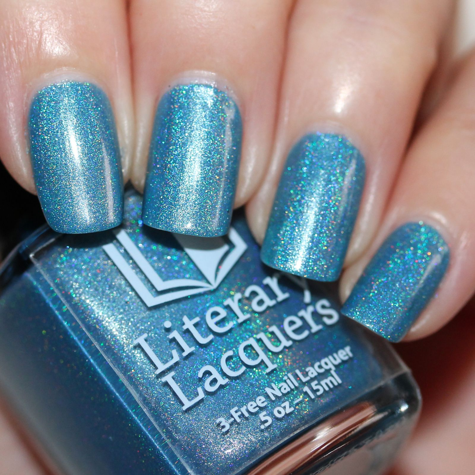 Literary Lacquers Mad Style (2 coats, no top coat)
