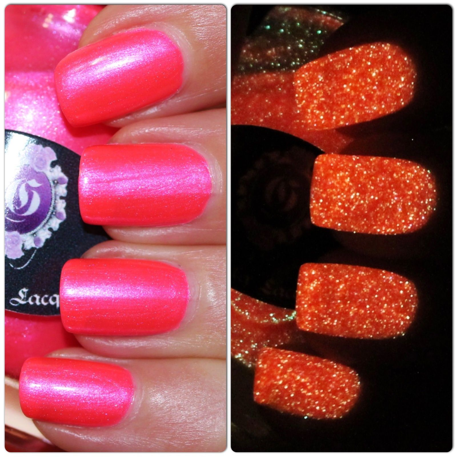 Gothic Gala Lacquers Blushing Bodies (Glows in the Dark)