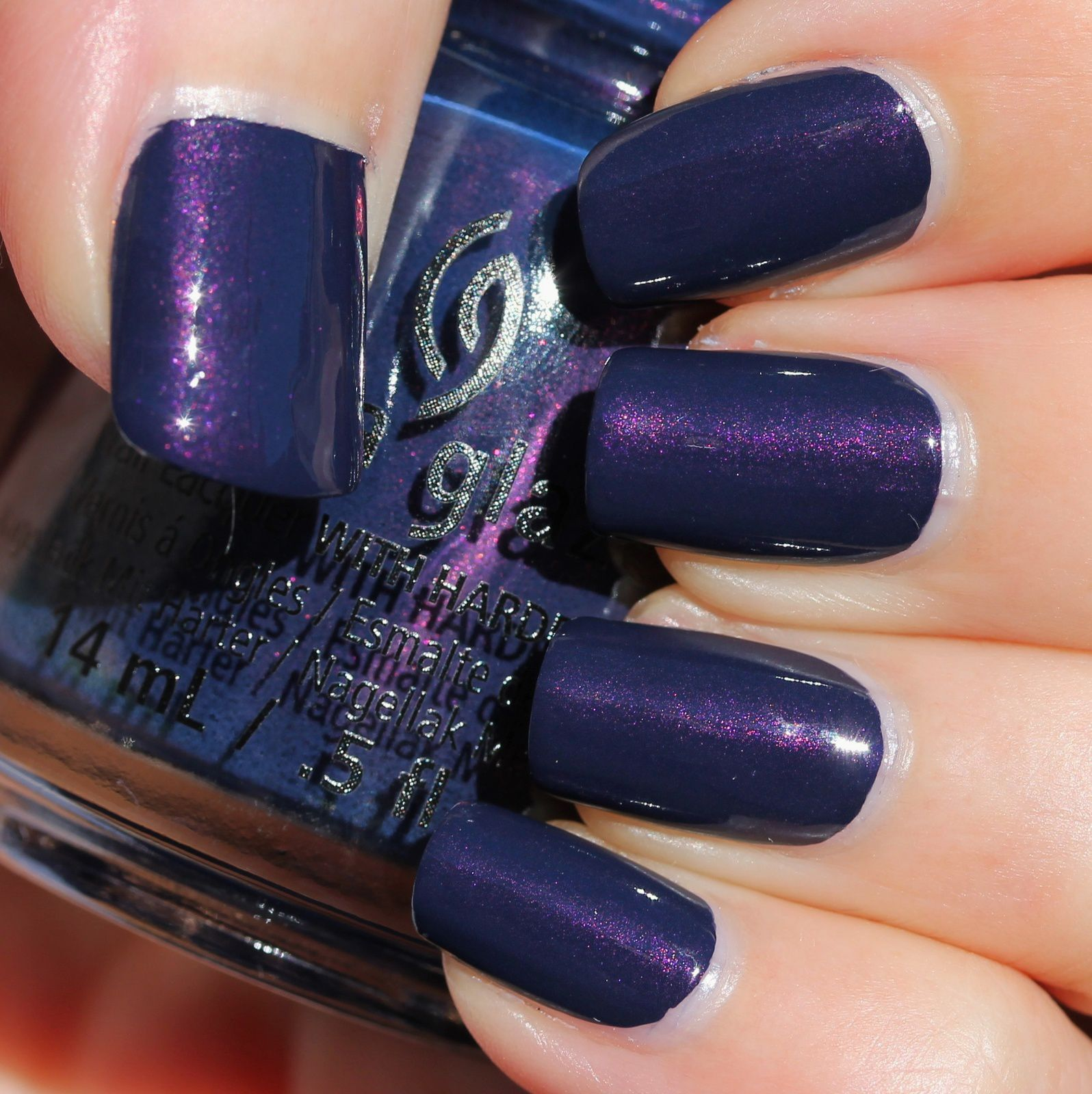 Duri Rejuvacote / China Glaze Sleeping Under the Stars / HK Girl Top Coat