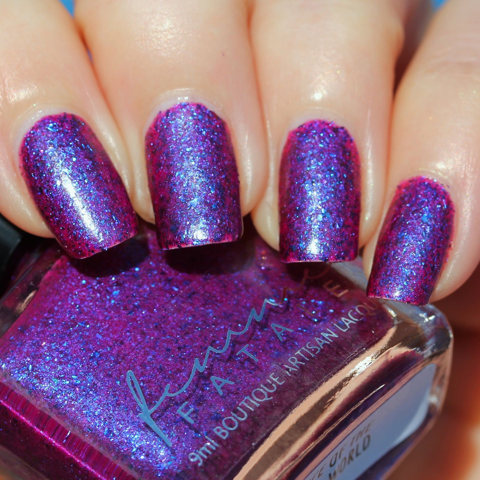 Femme Fatale Cosmetics - Voice of the Outer World (2 coats, no top coat, Thermal)