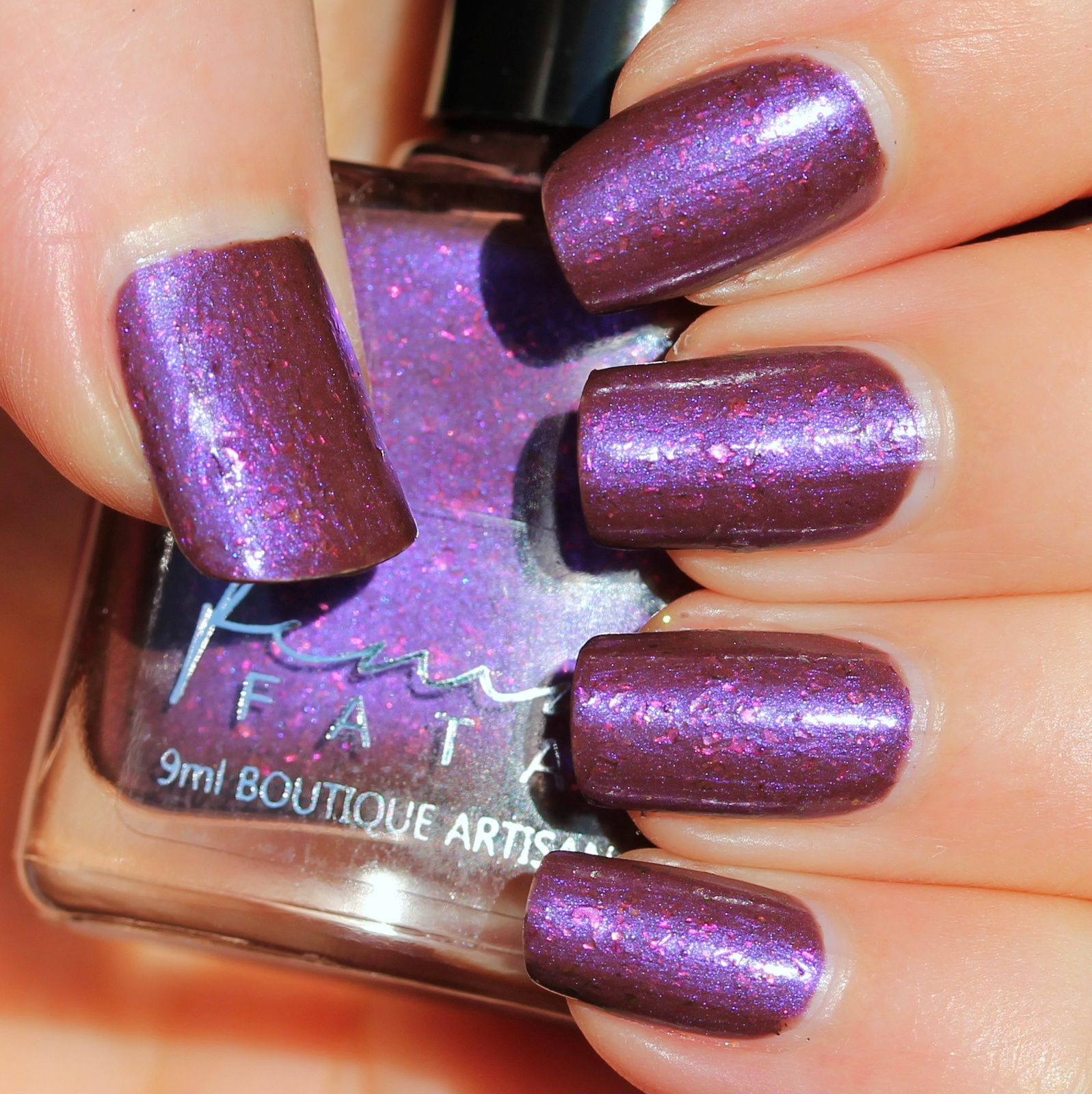 Femme Fatale Cosmetics - Genetic Memory (2 coats, no top coat)
