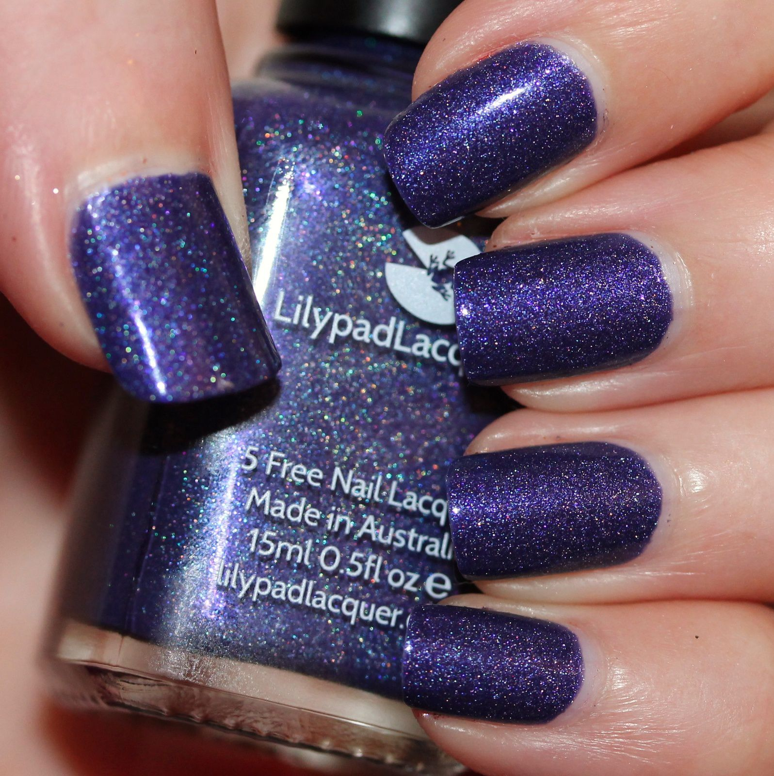 Lilypad Lacquer The people Under the Stairs (2 coats, no top coat)