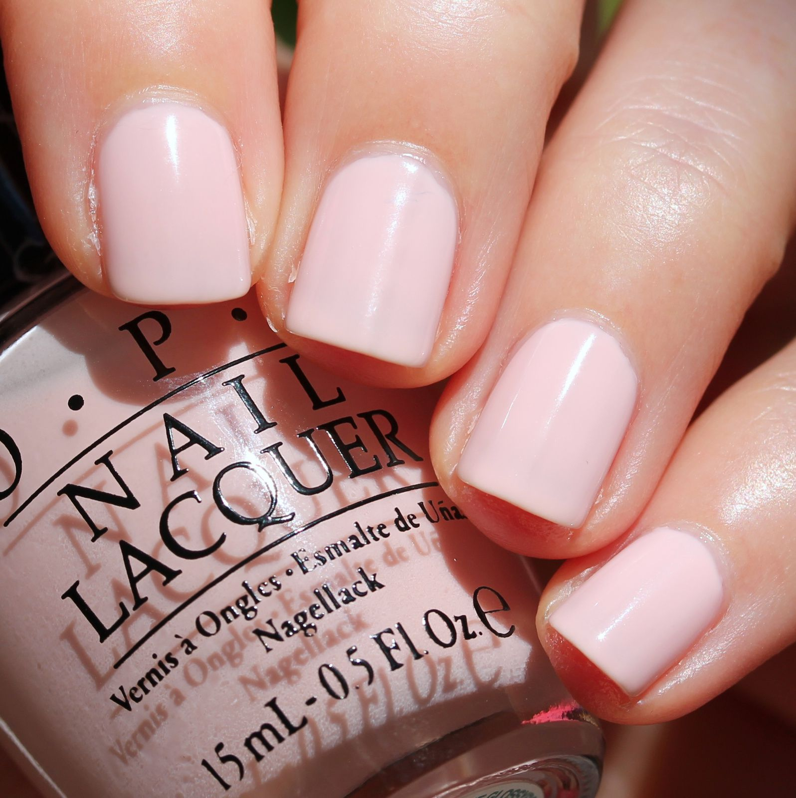 Sally Hansen Complete Care 4-in-1 Extra Moisturizing Nail Treatment / OPI Pink Outside The Glossybox / HK Girl Top Coat