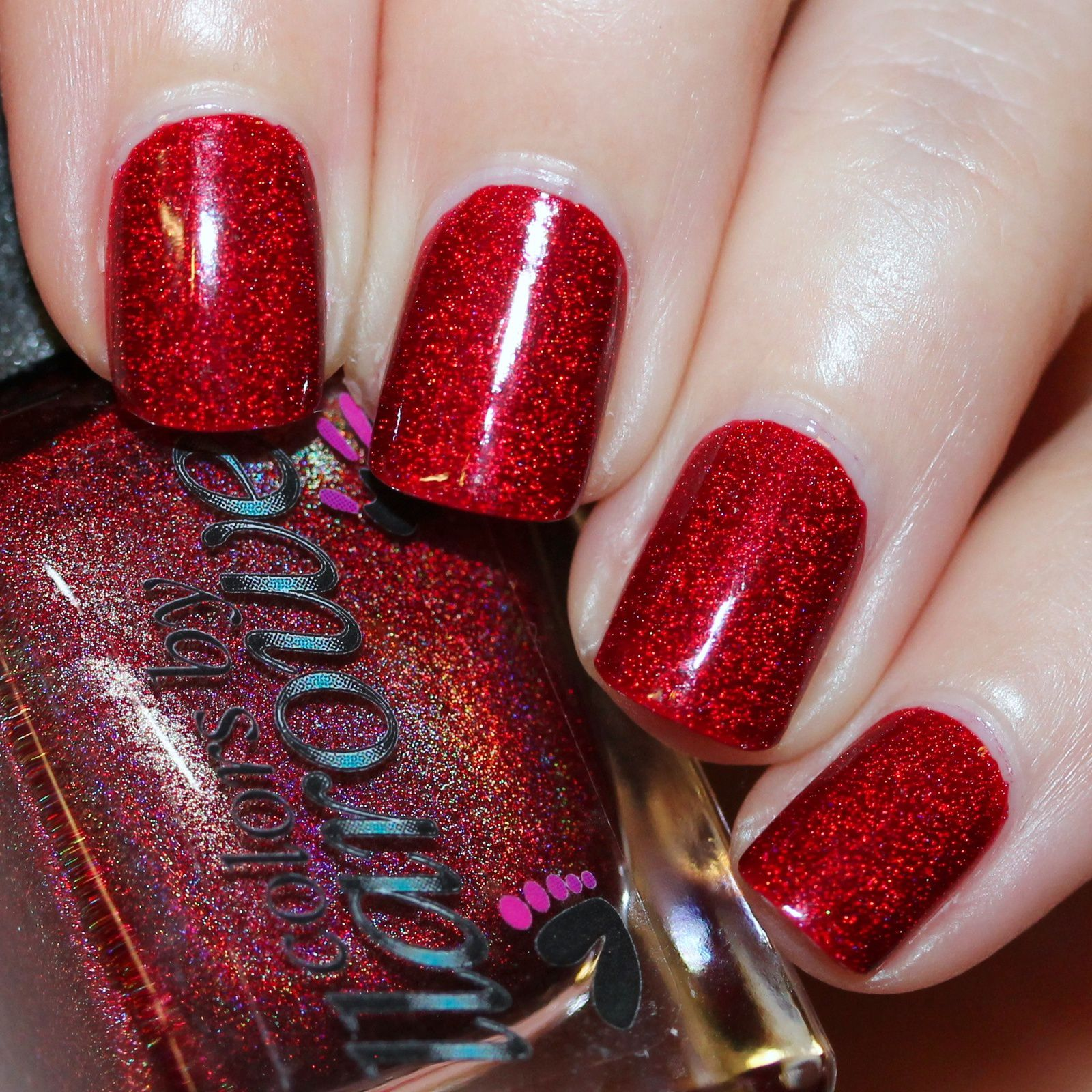 Duri Rejuvacote / Colors by Llarowe The Mighty Red Baron / Sally Hansen Miracle Gel Top Coat